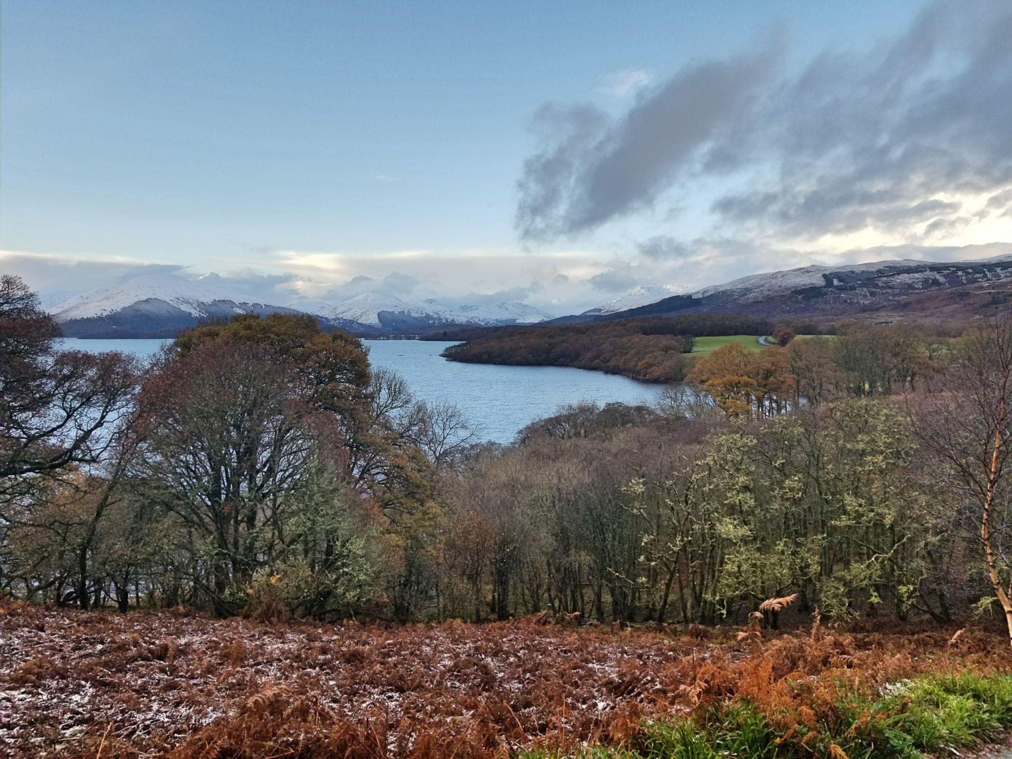 Over Loch Lomond