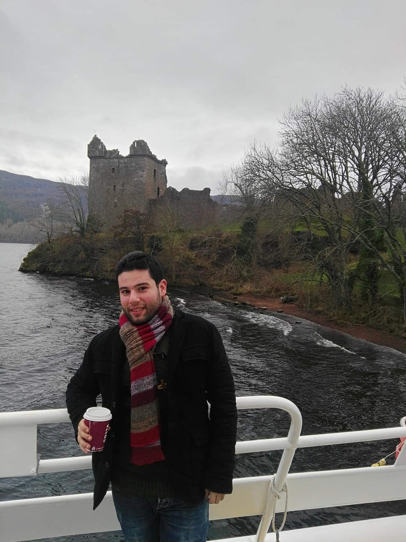 While in Loch Ness