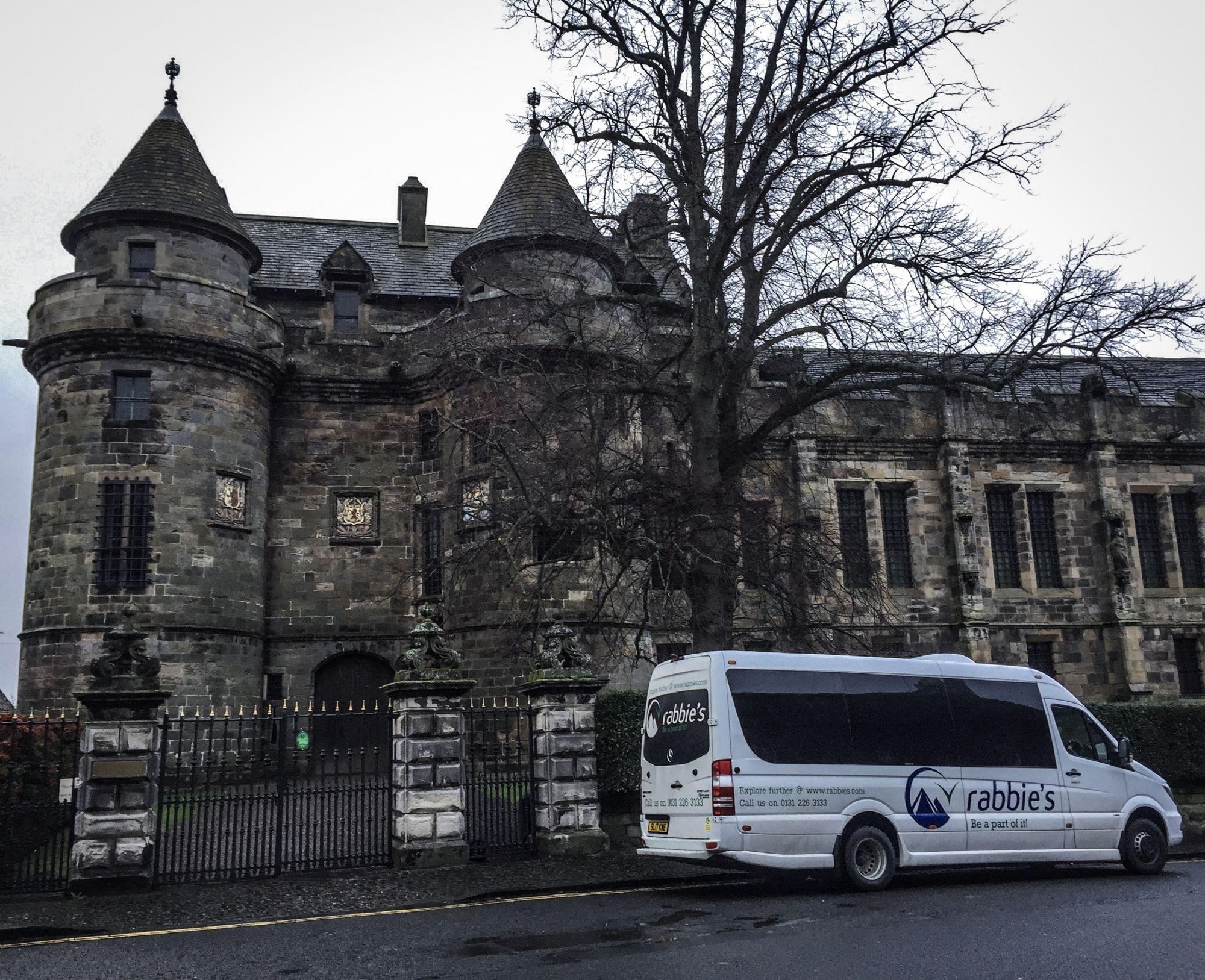 Falkland Palace  the wee bus