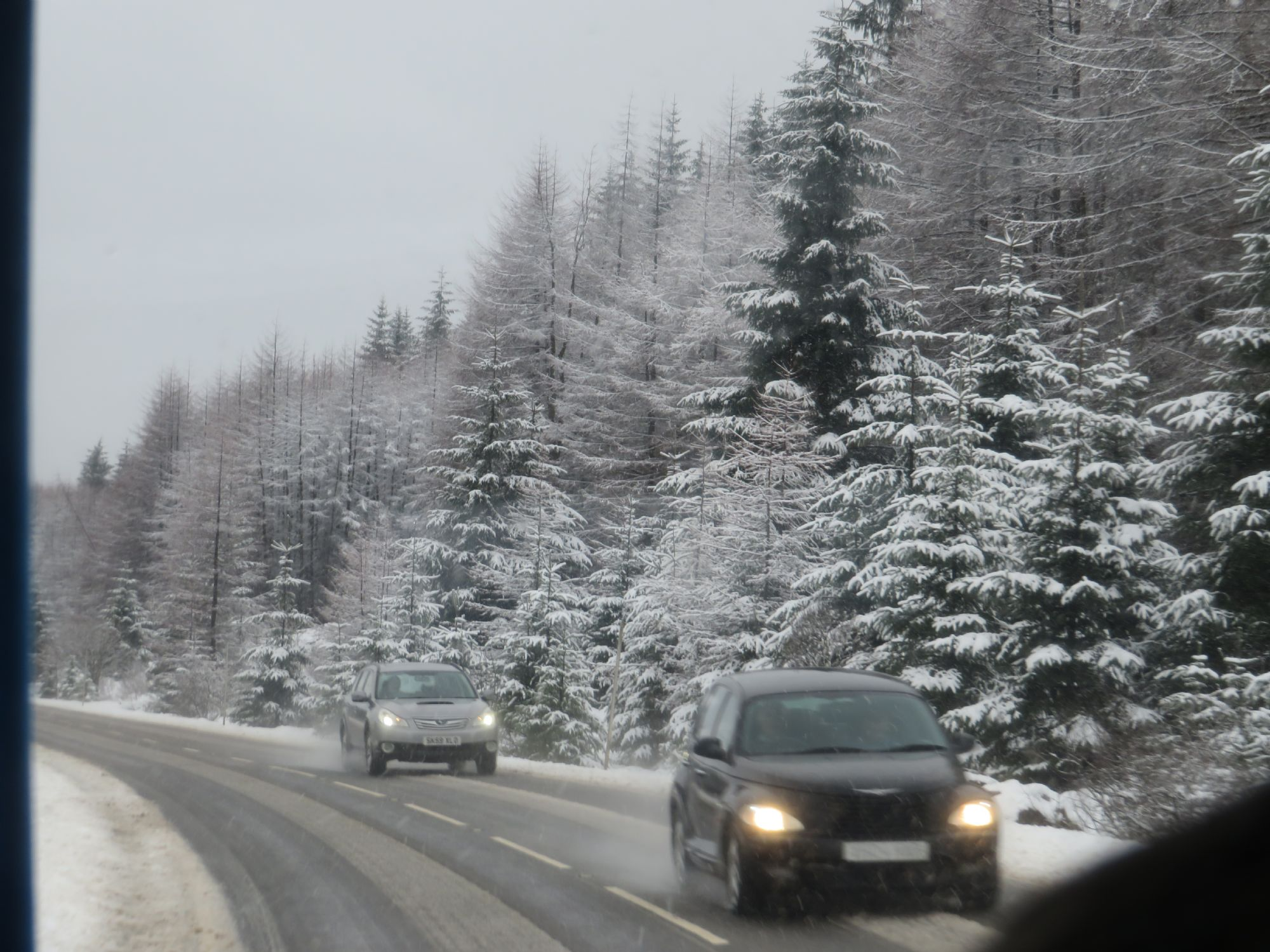 The Scottish weather - love it