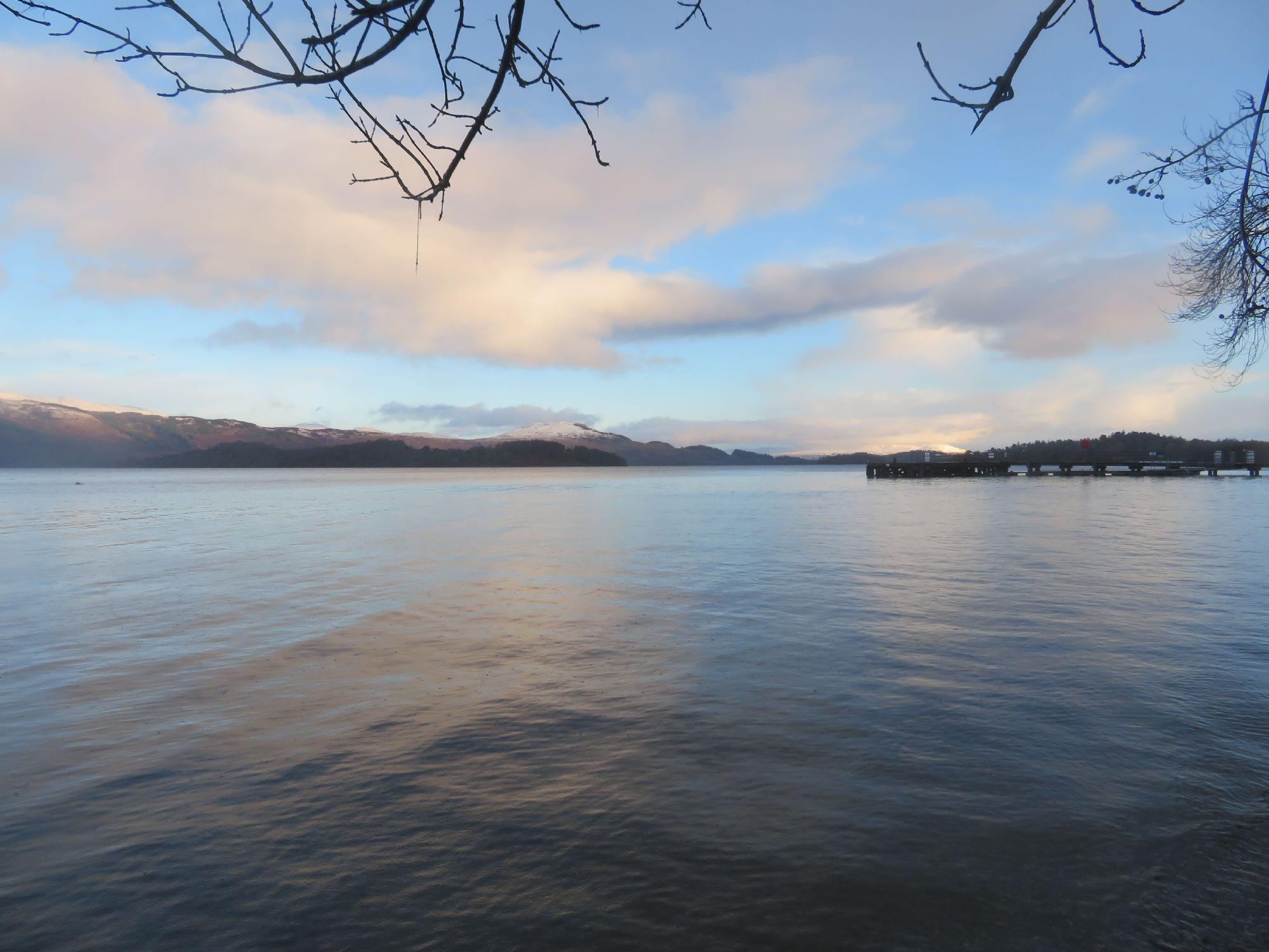 Final stop - Loch Lomond.
