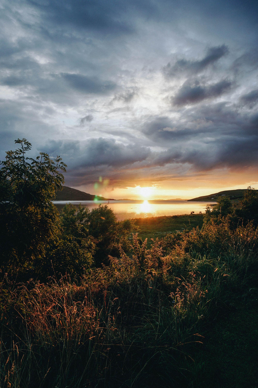 Incredible sunset in Ullapool