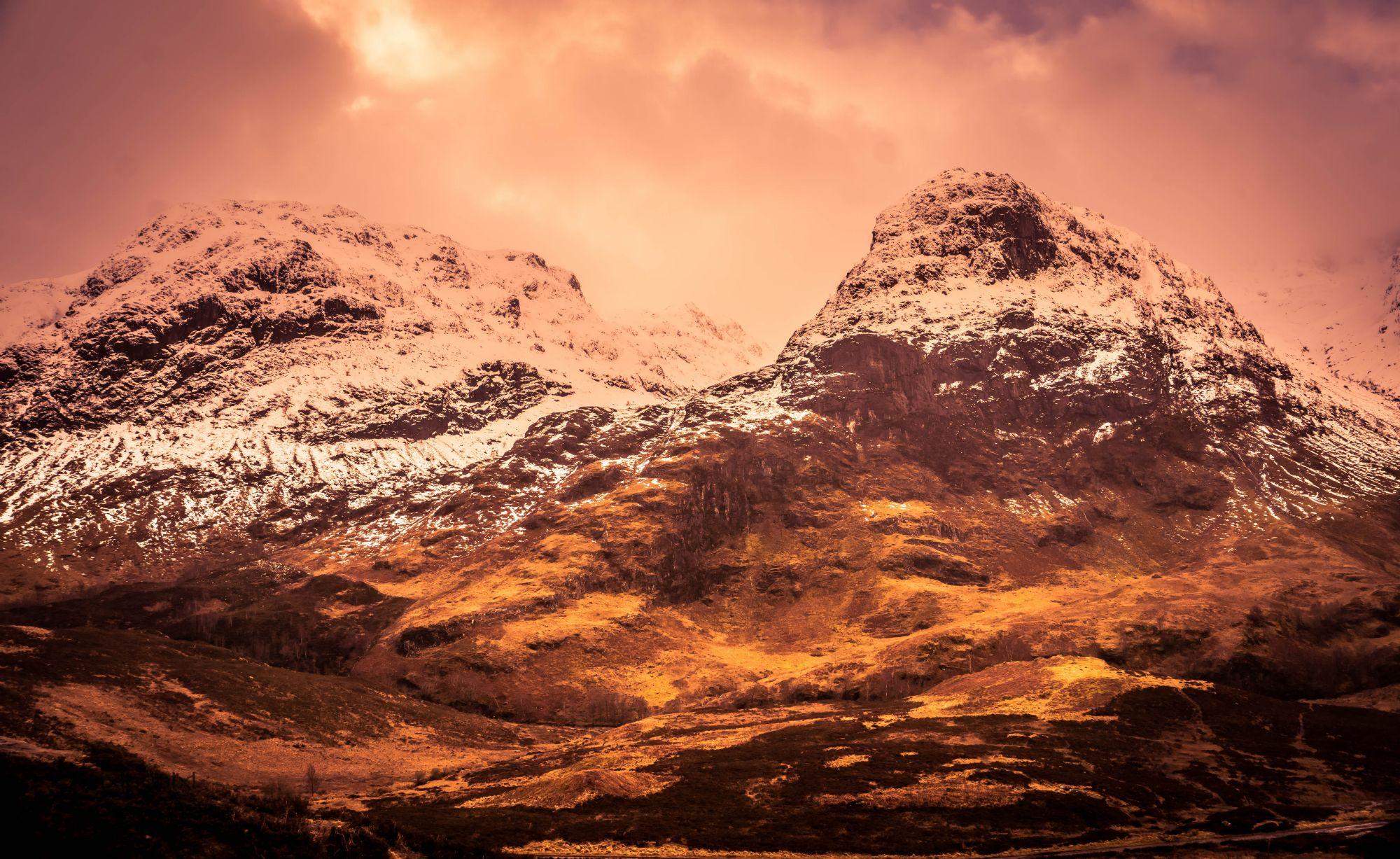 Loch lomond Glencoe highlands