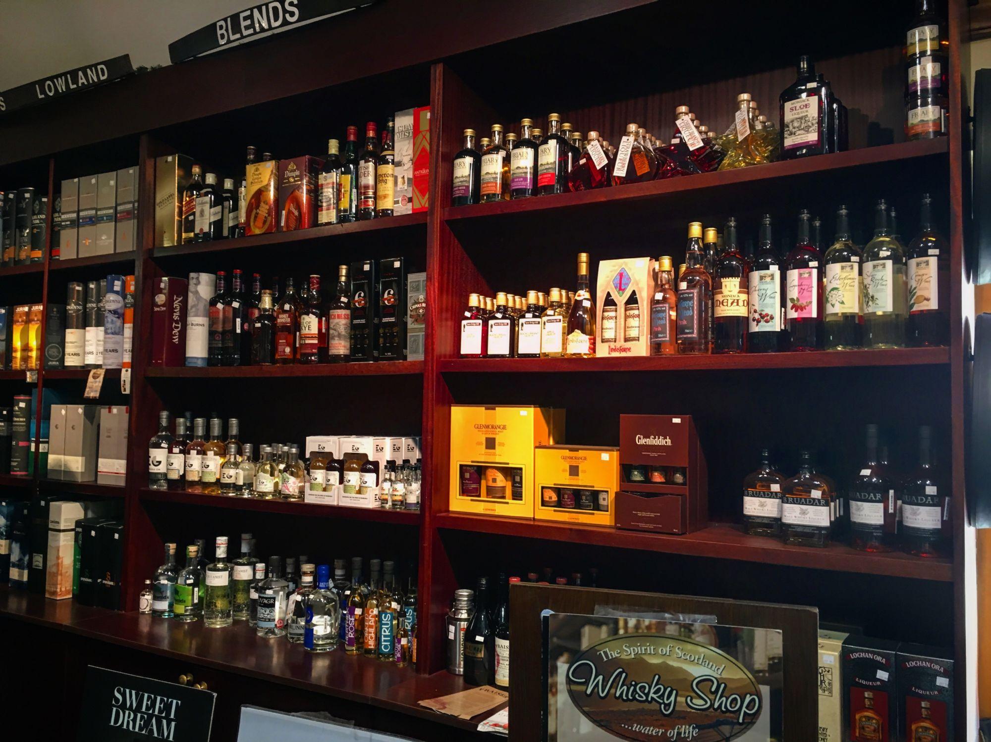 Whiskey Shop, Spean Bridge