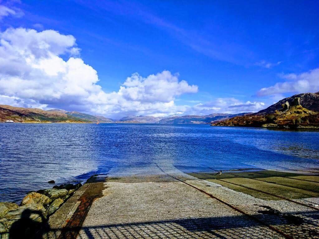 Isle of Skye in March sunshine