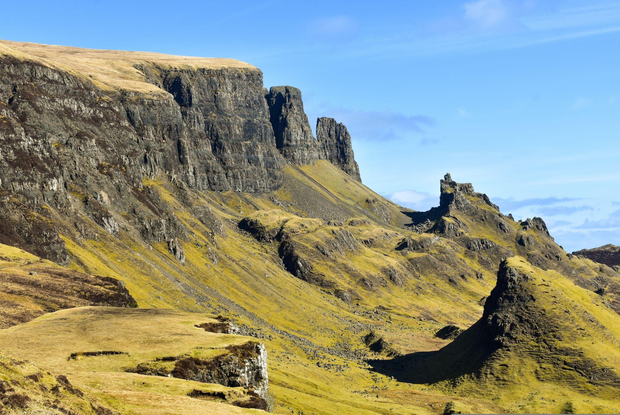 The Quiriang Mountains