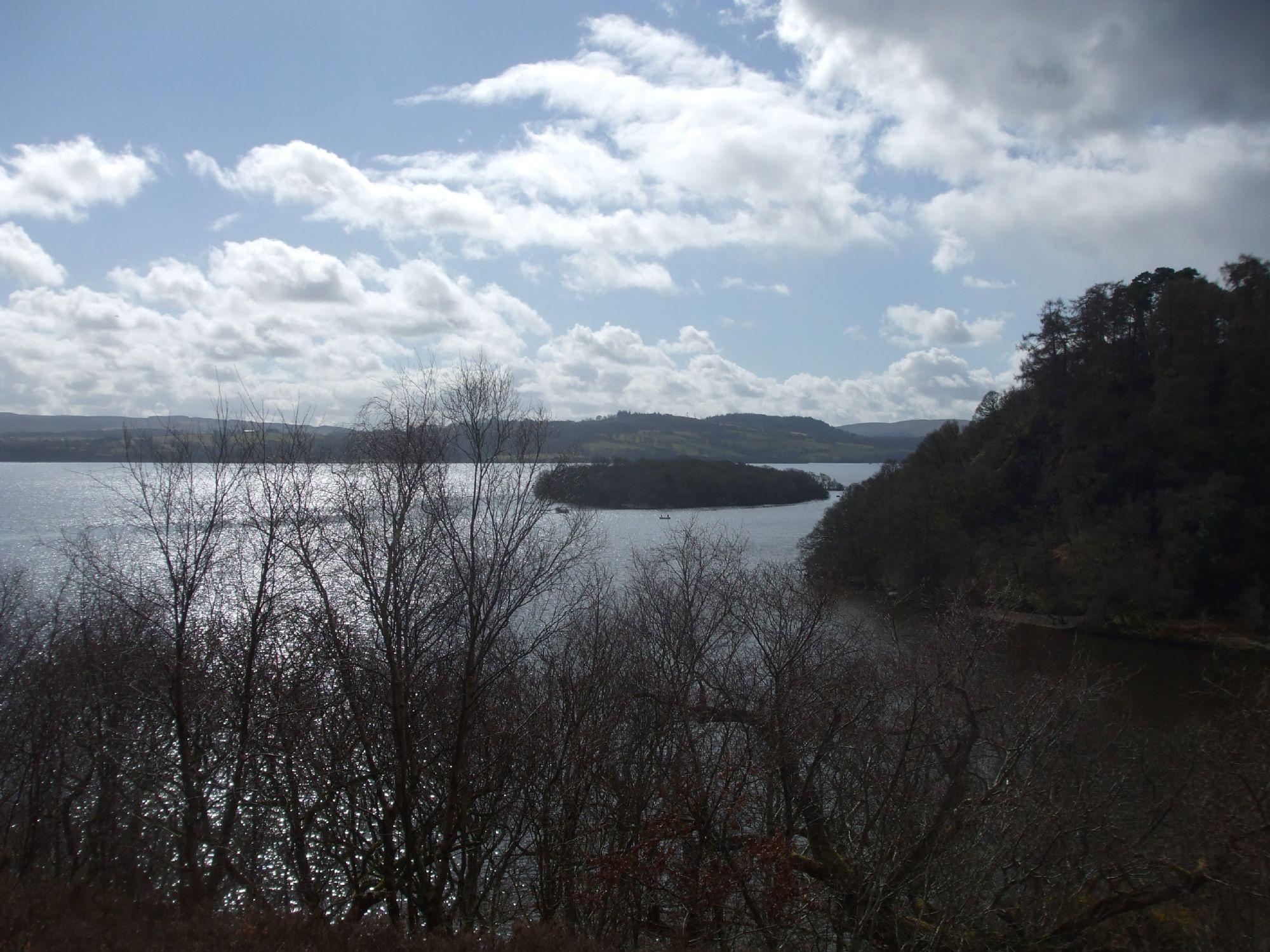 Climbed to appreciate Loch