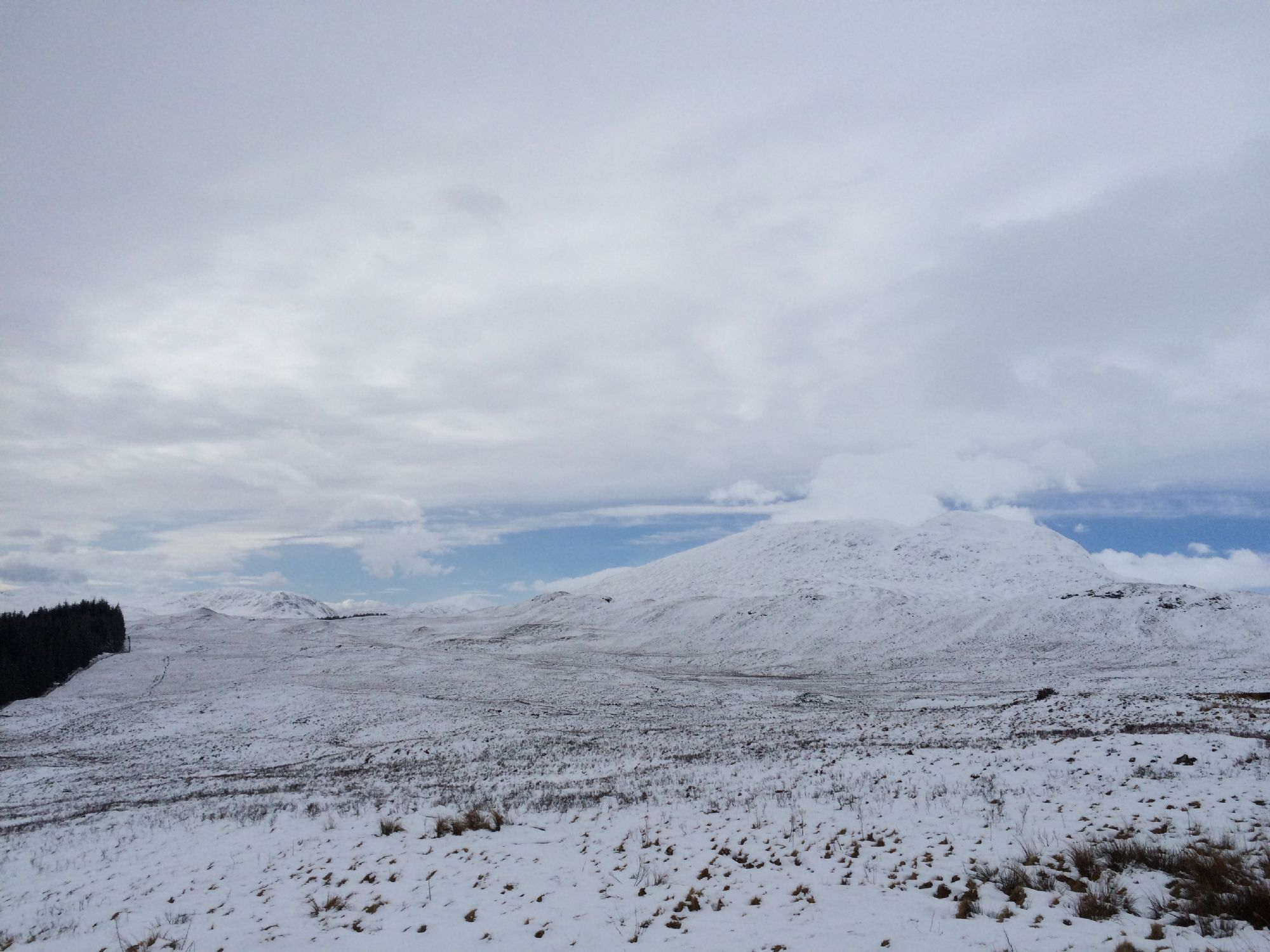 West Highlands in the snow