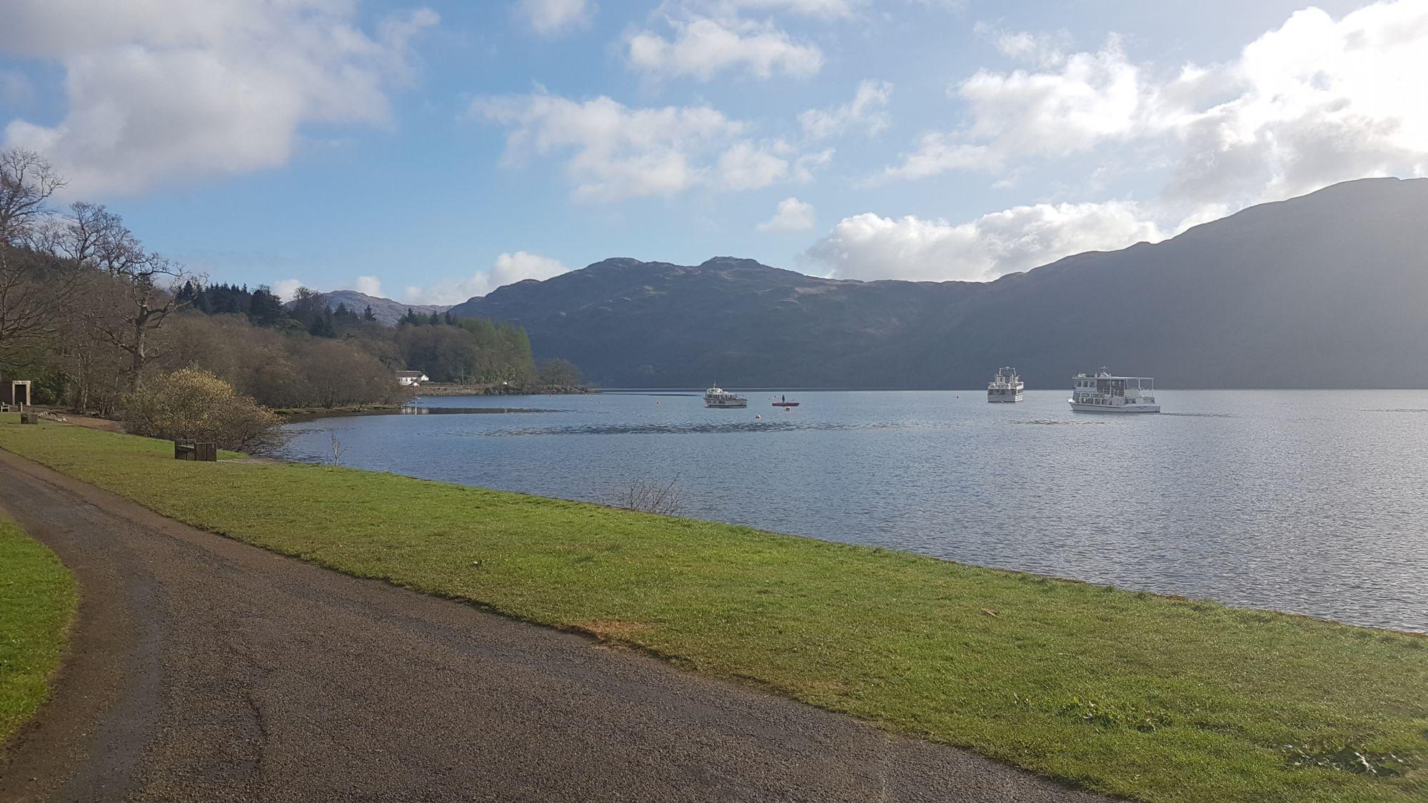 The road to Loch Lomond