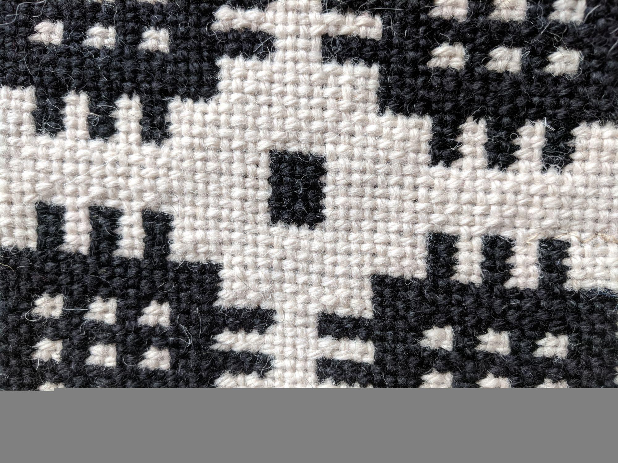 Woven Pattern up close