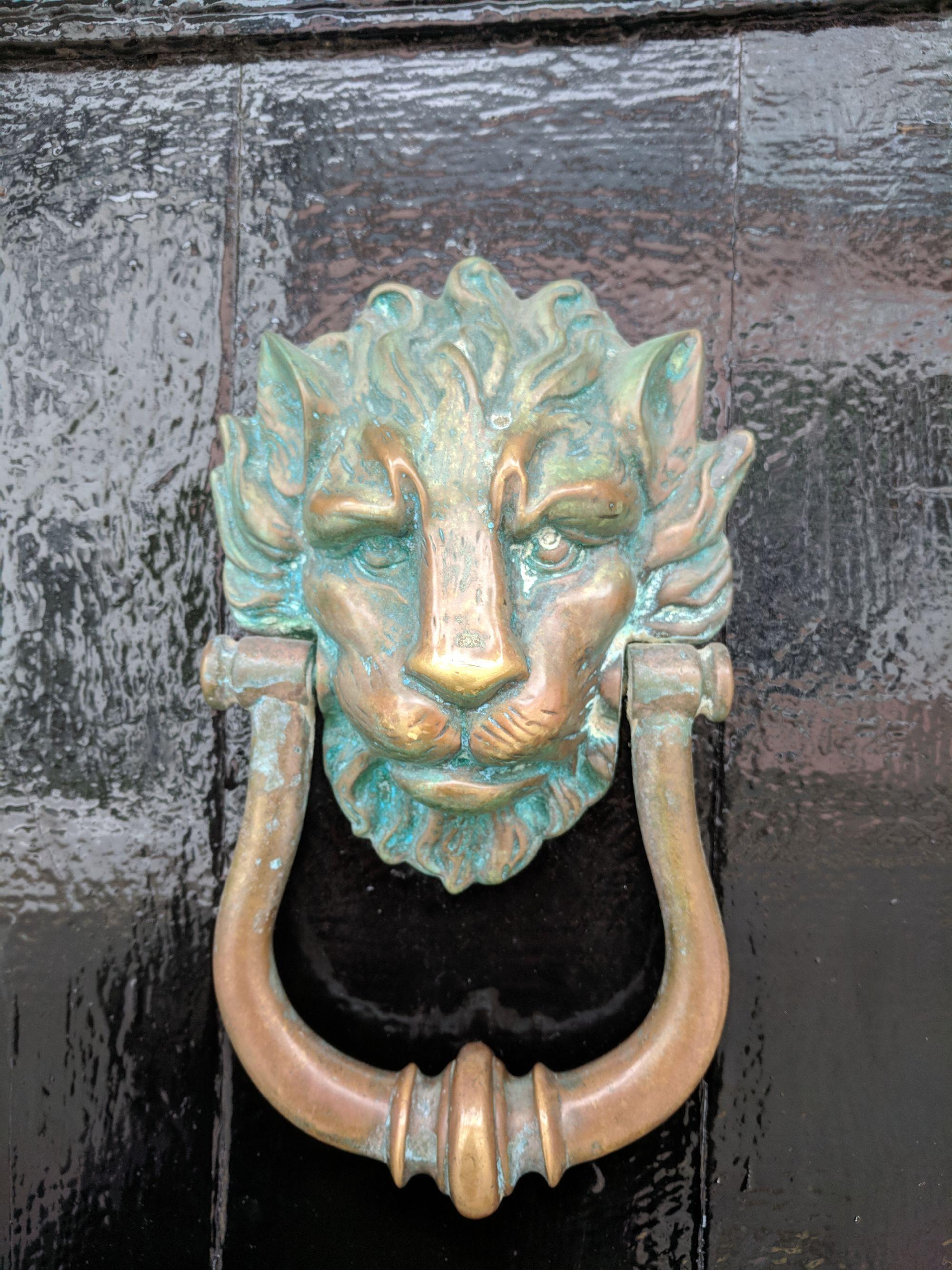 Door Knocker - New Quay