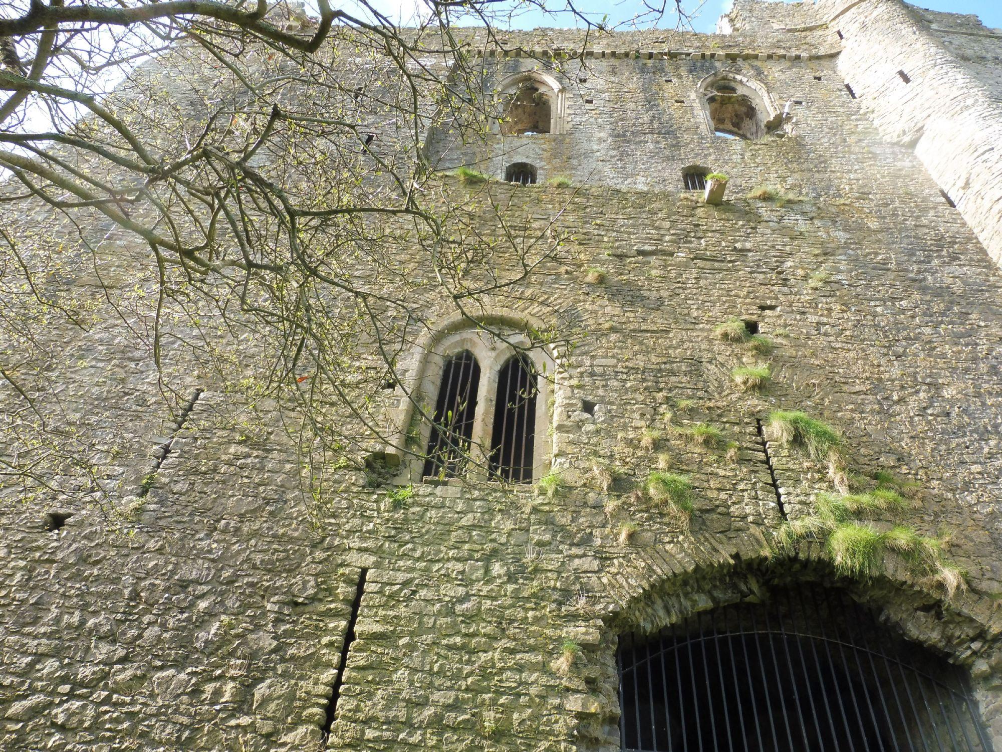 Pembroke Castle up close