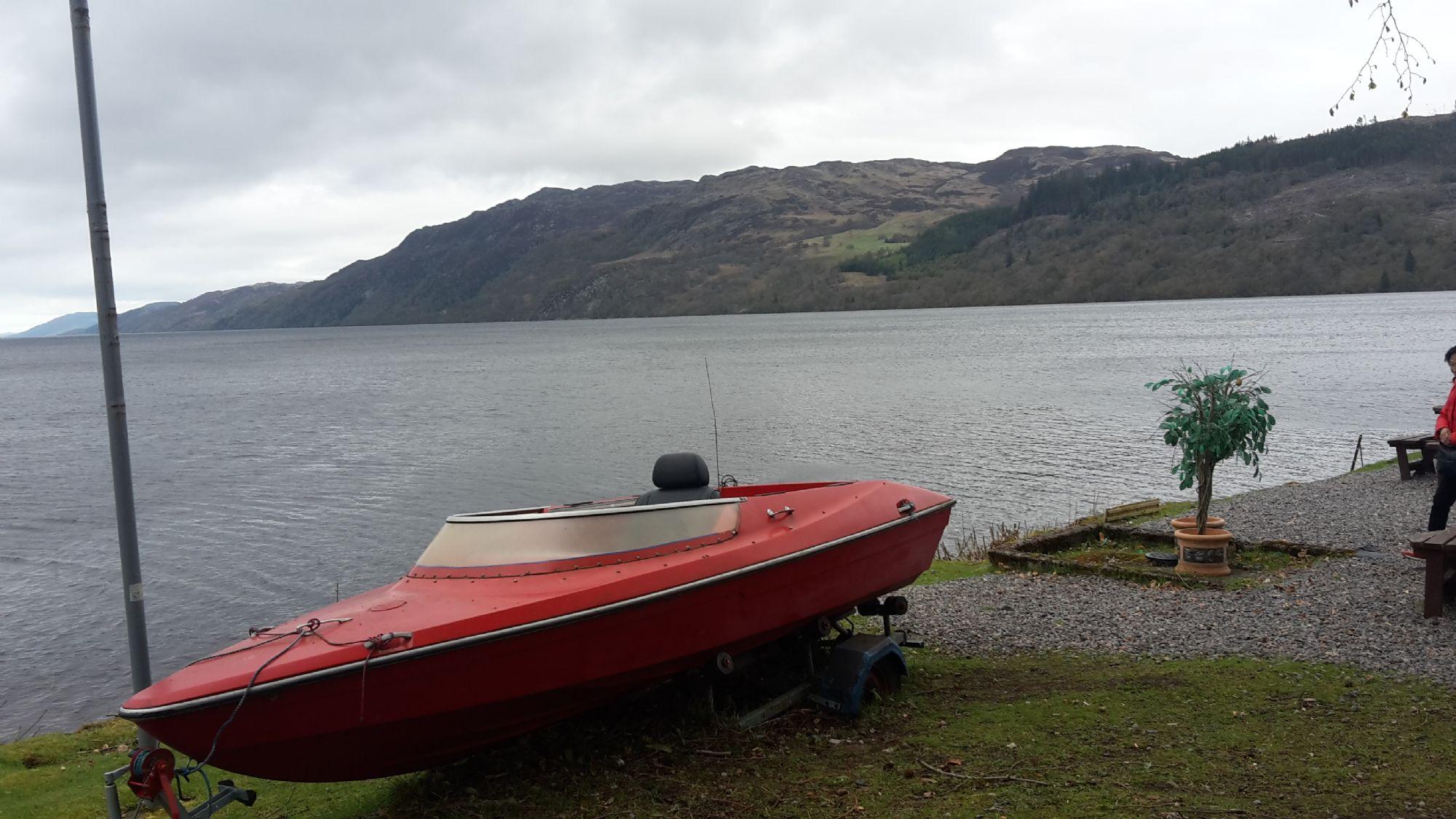 Boat - Loch Ness