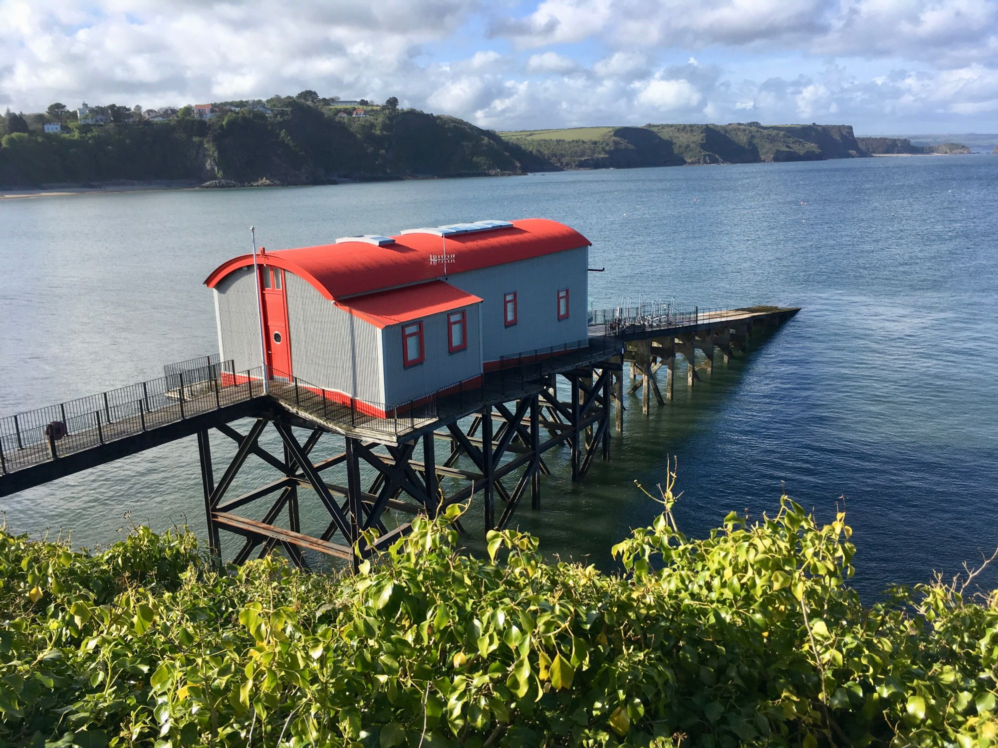 Tenby, Life Boat Station