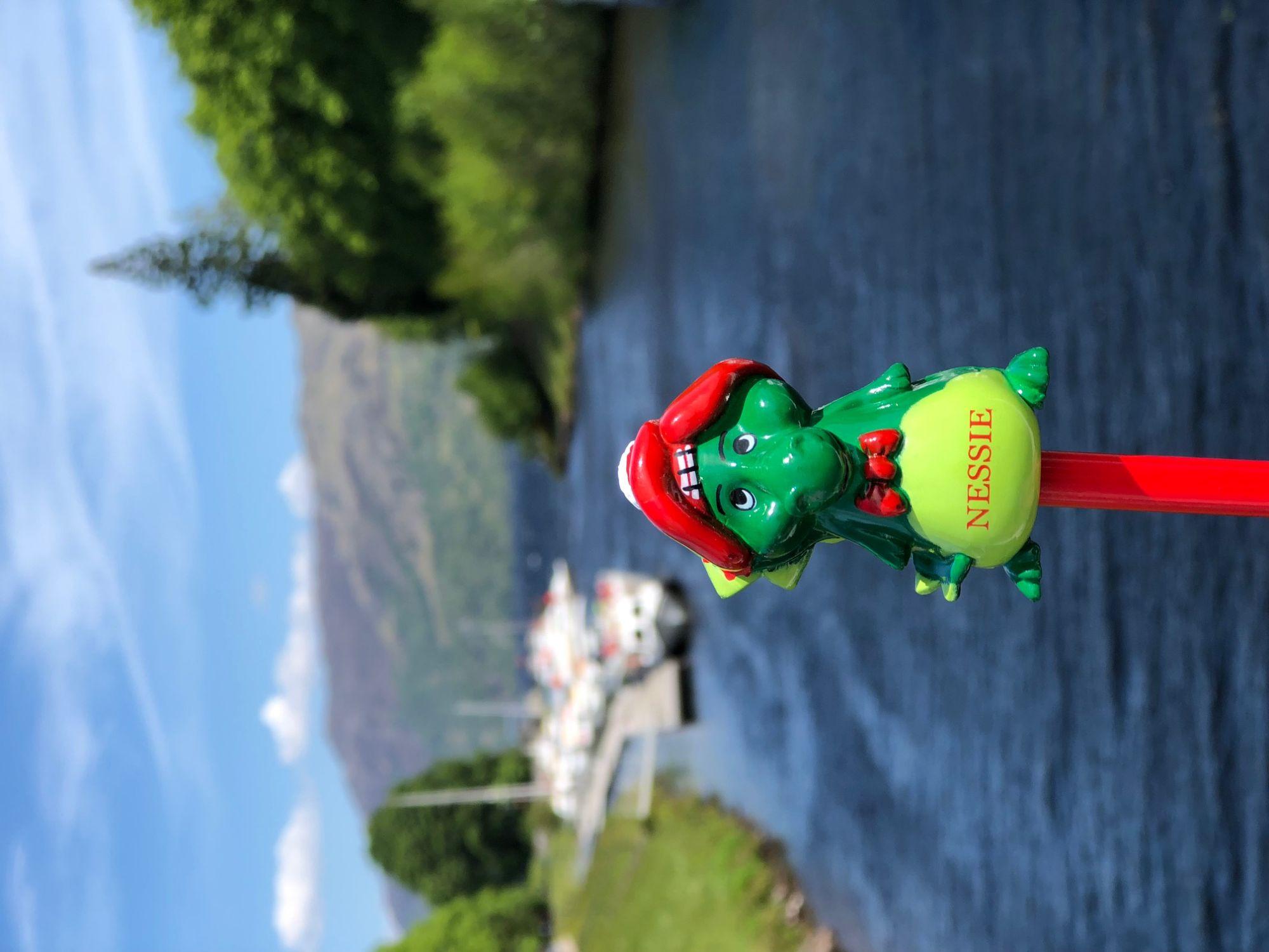We saw Nessie! 128516