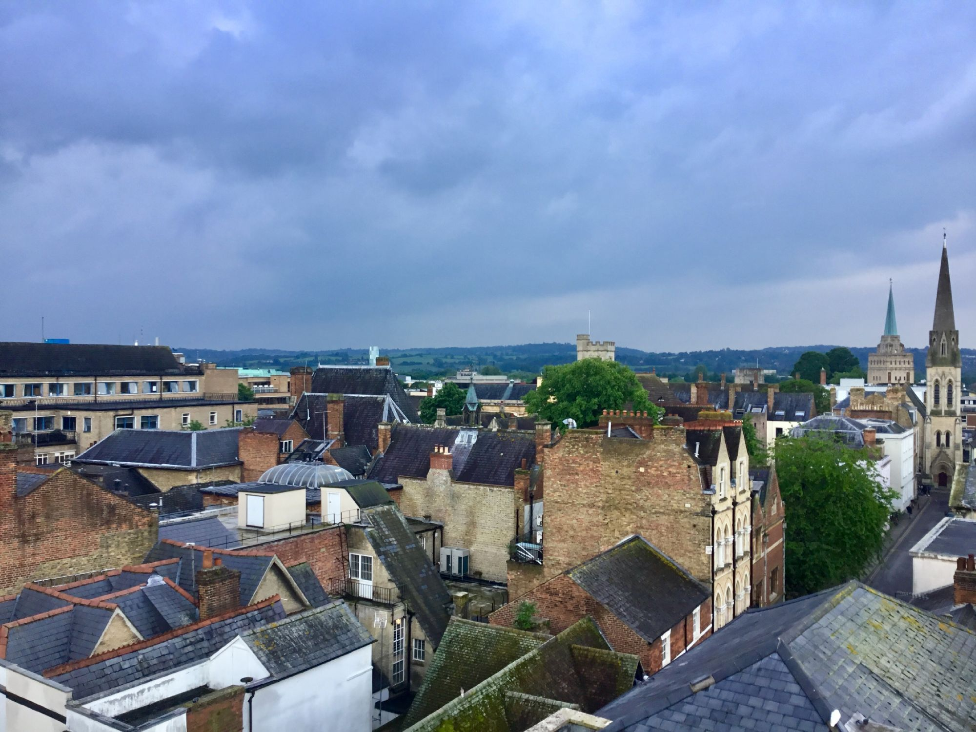 Oxford from Saxon tower