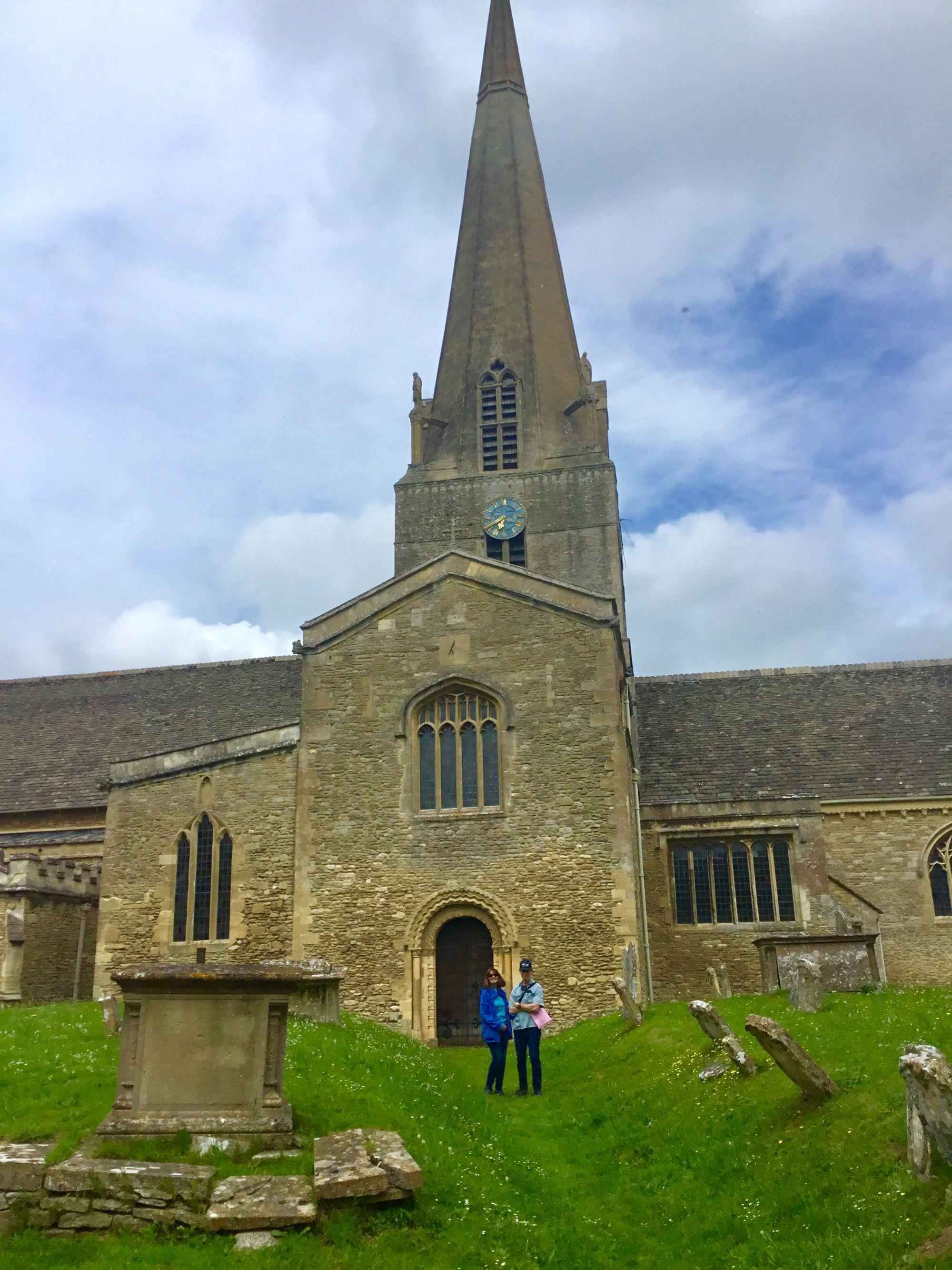 Bampton, Downton Abbey church