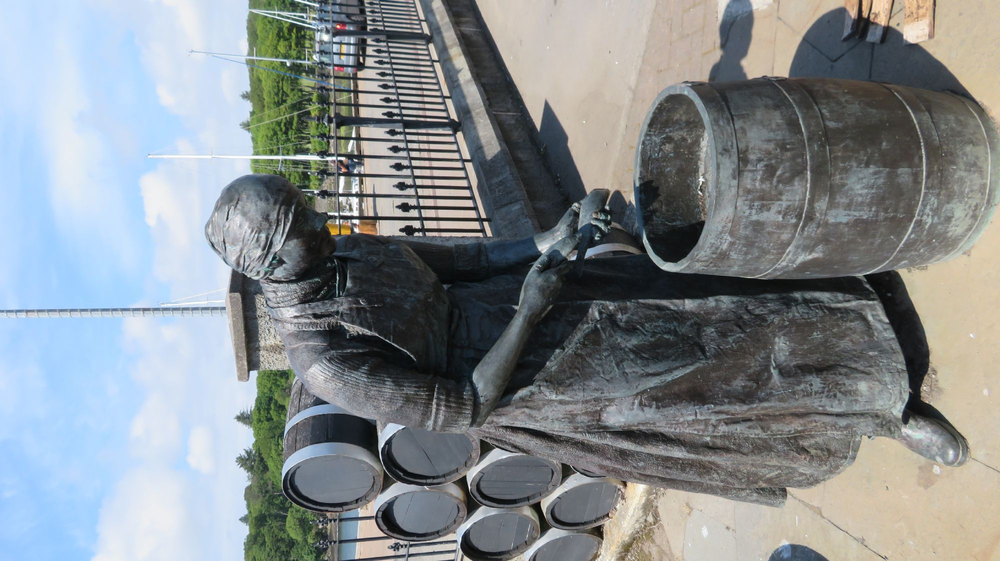 Herring Girl at Stornoway.