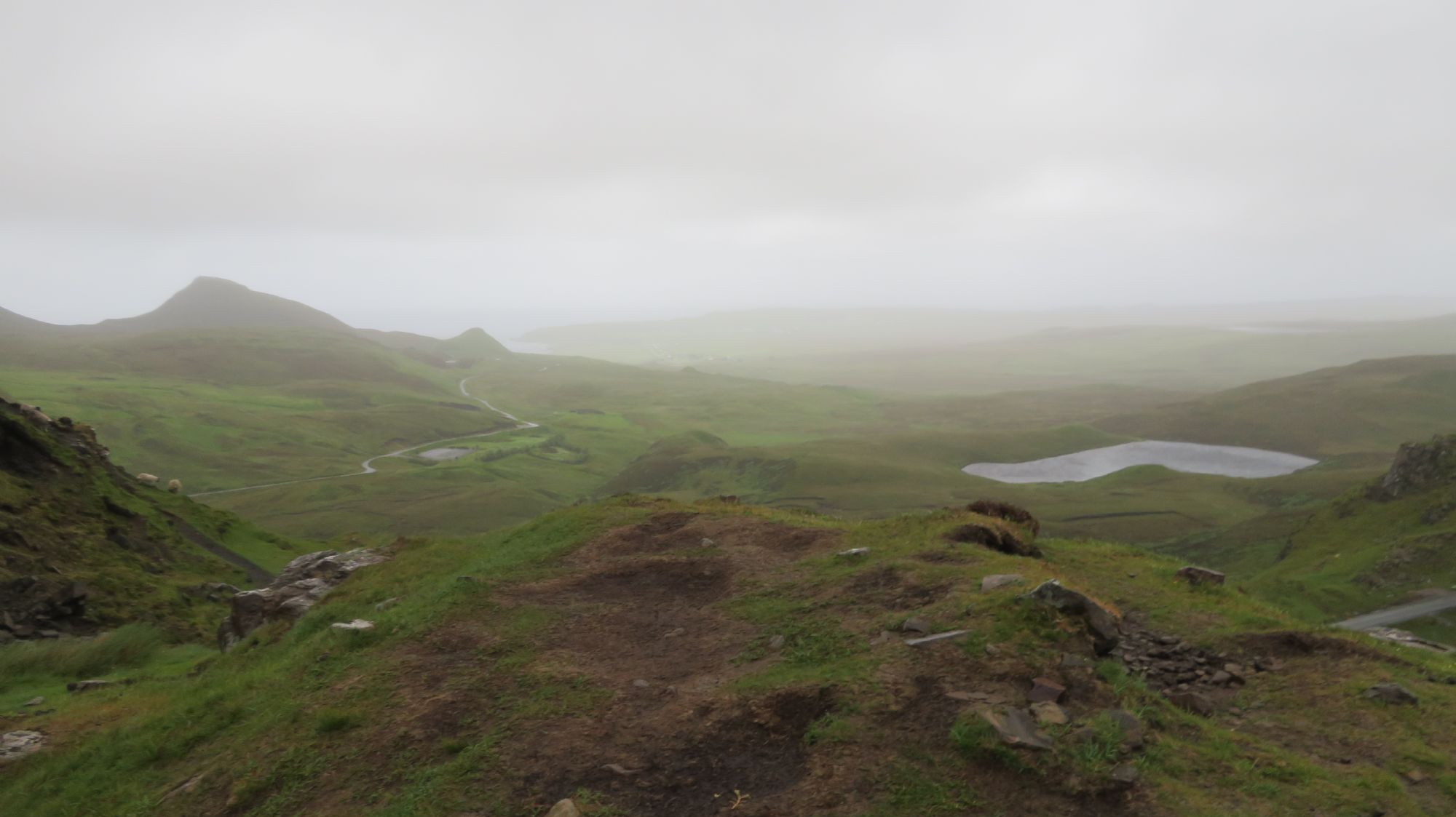 The Quiraing during a storm!