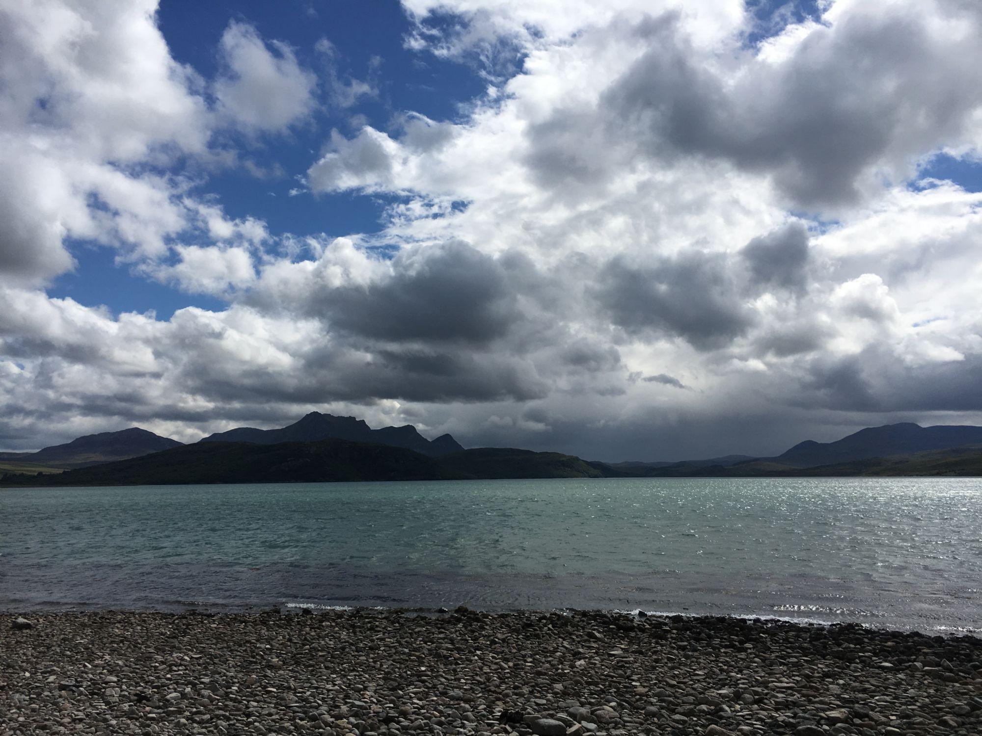Dramatic Highlands Sky
