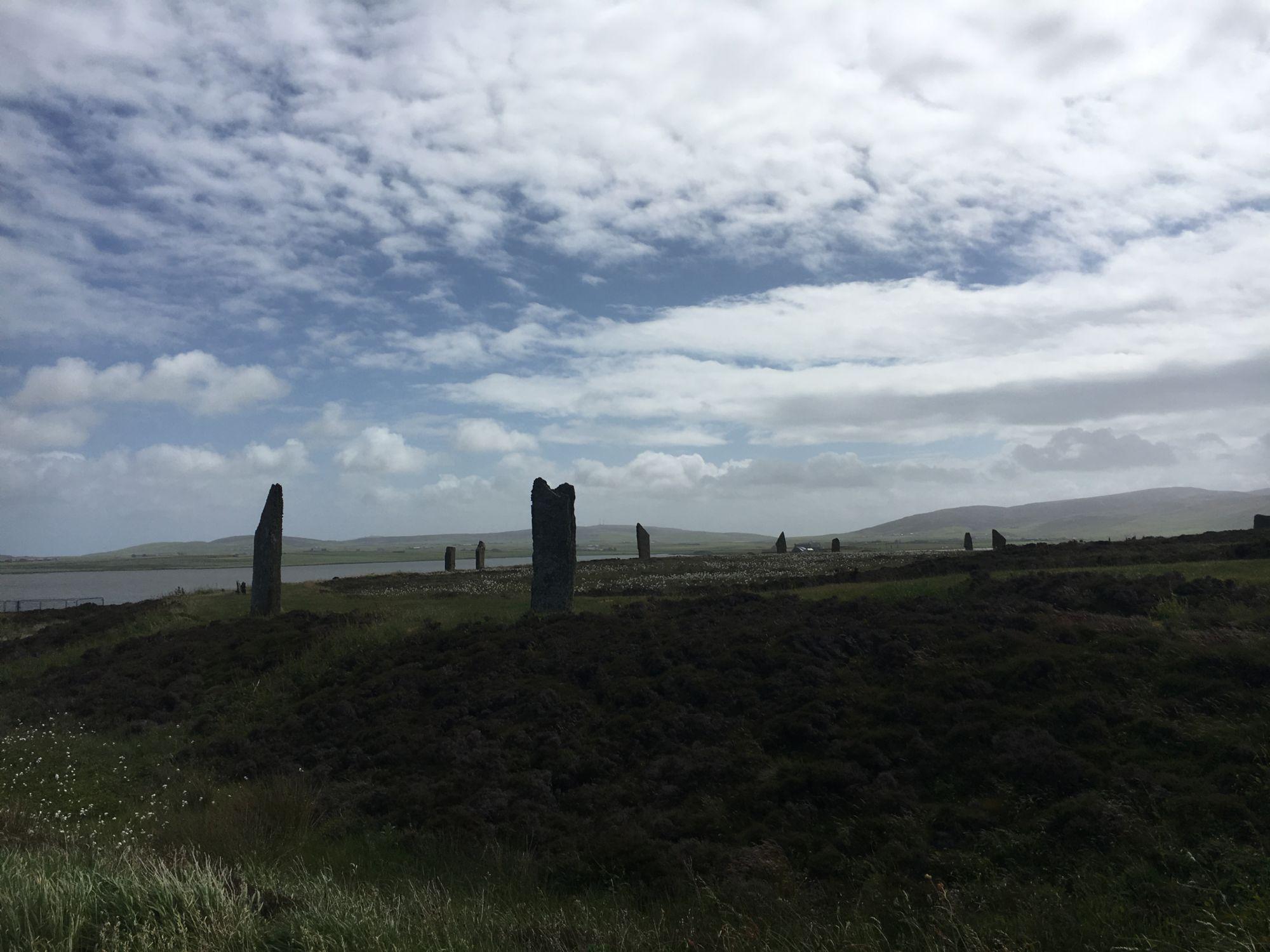 Ring of Brogdar on Orkney