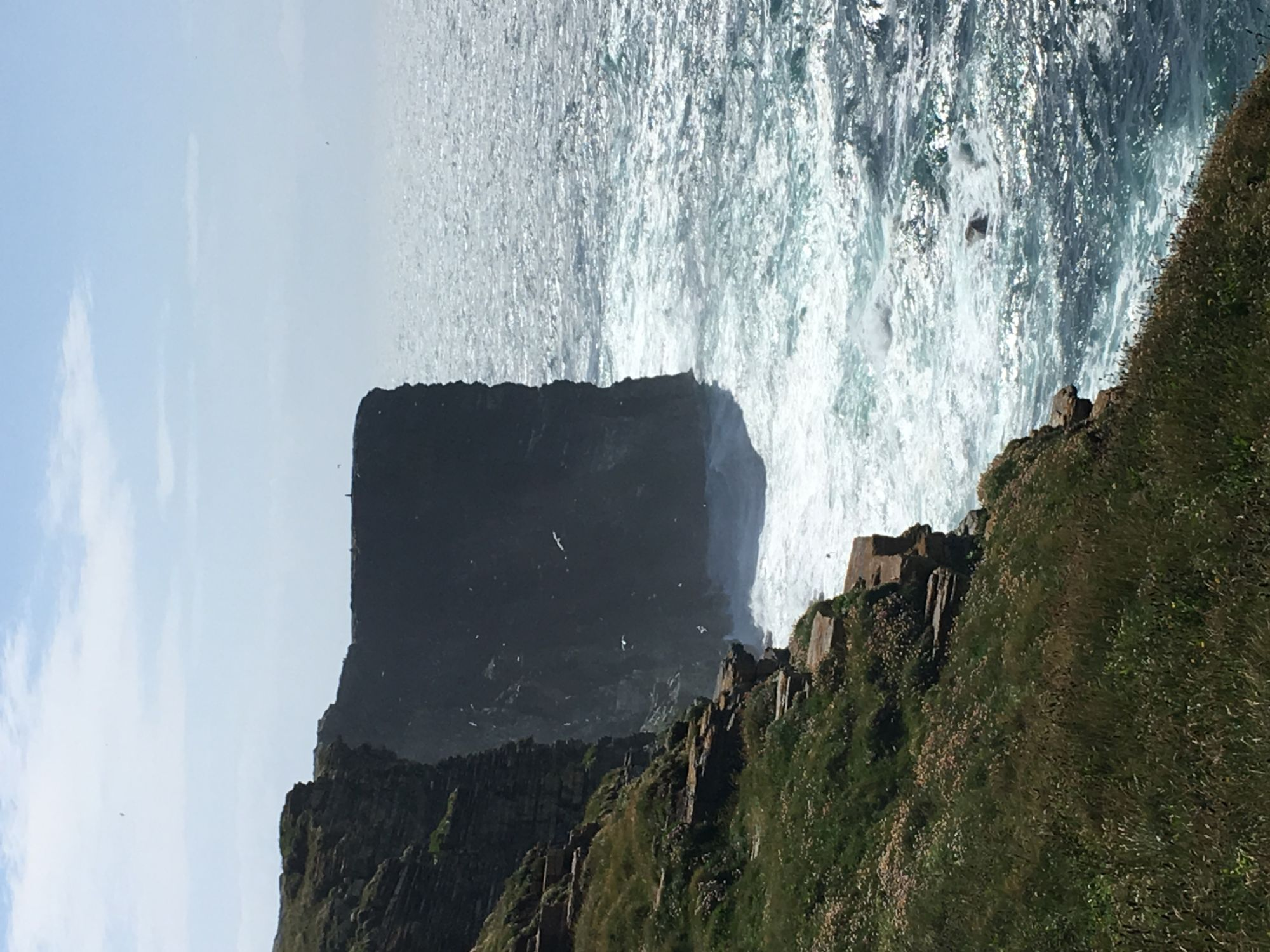 Sea Cliff on Orkney