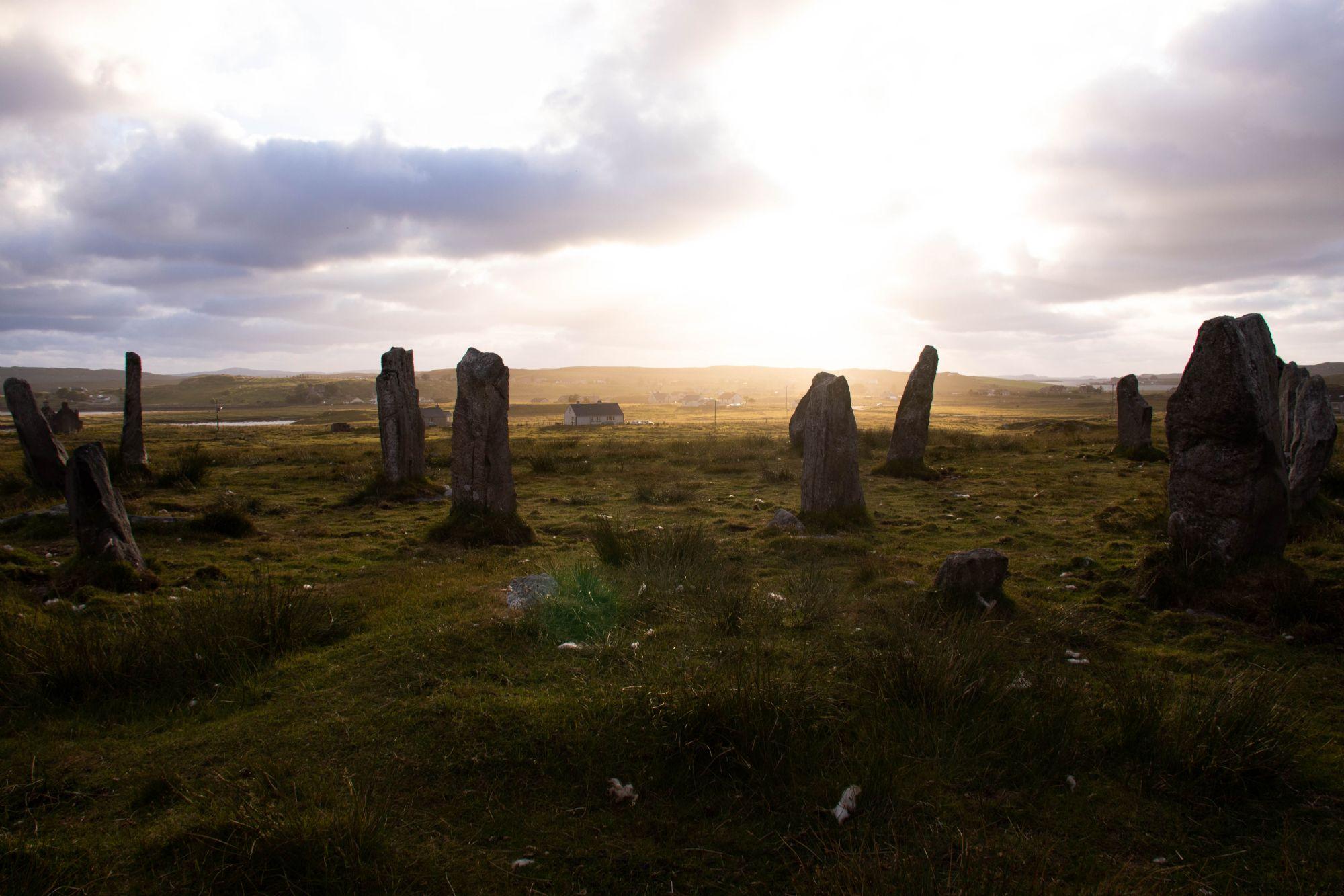Callanish III summer solstice