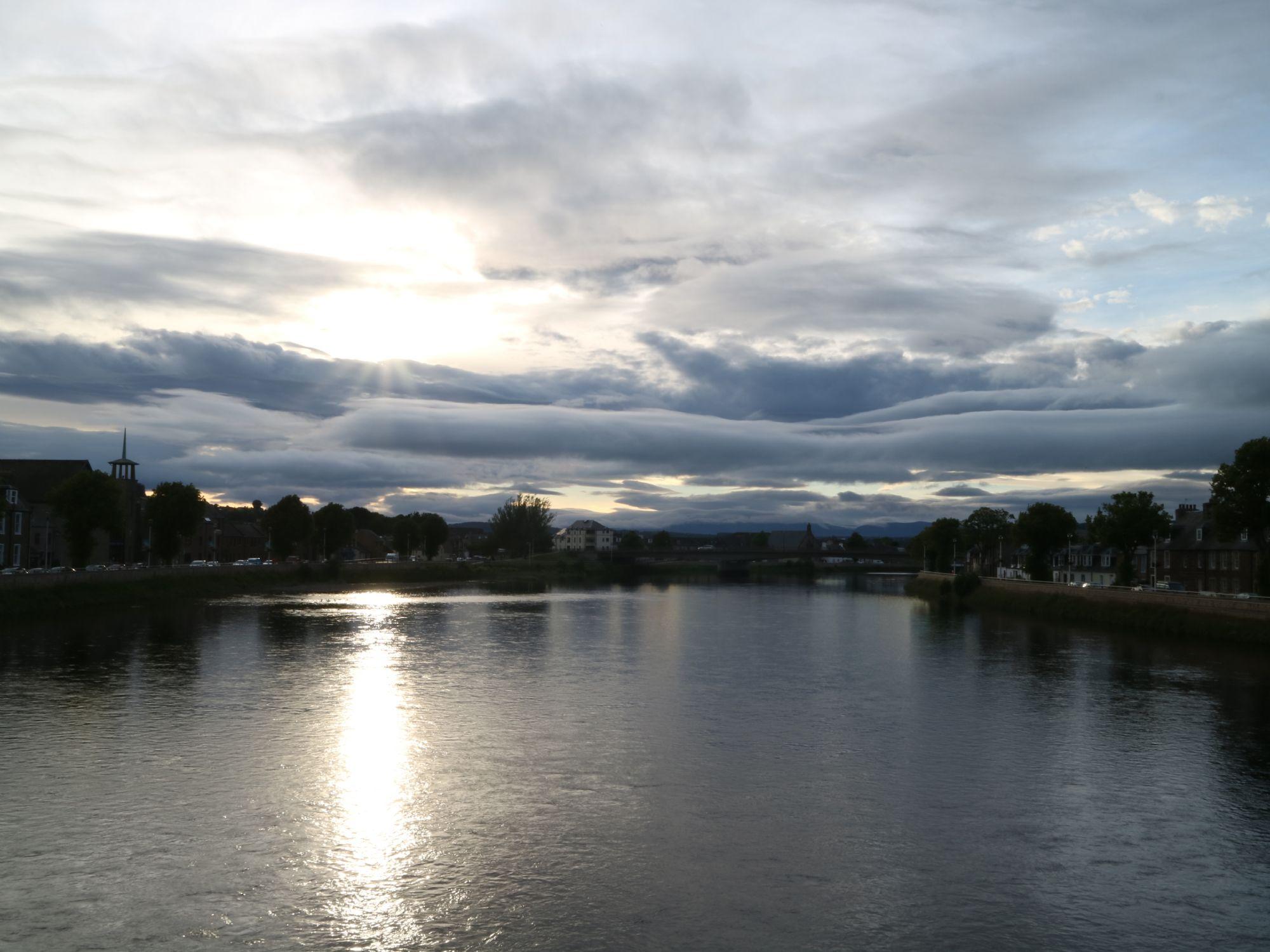 Quite evening in Inverness