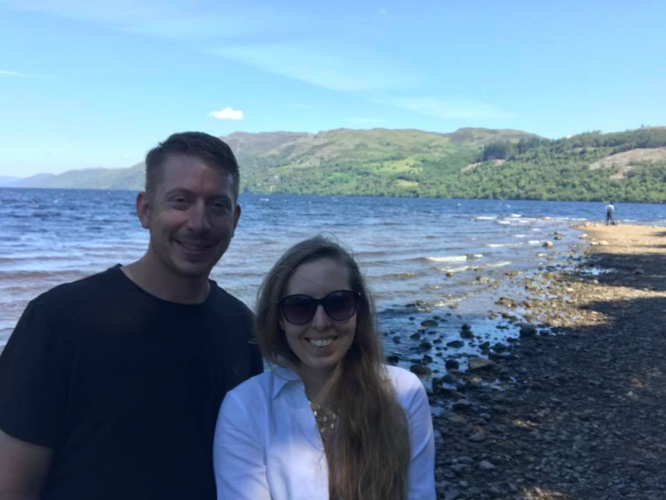 Honeymoon at Loch Ness