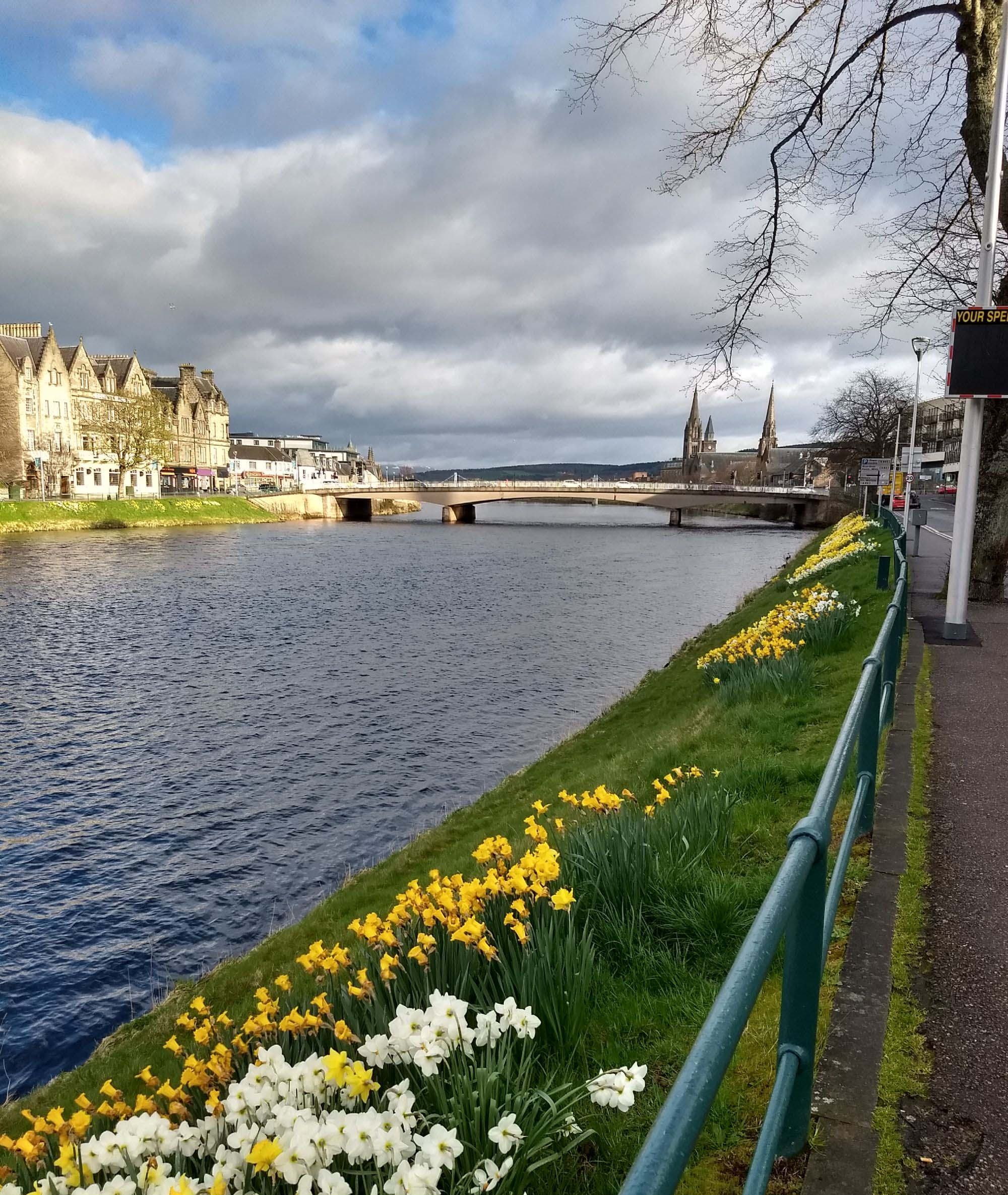 Morning walk in Inverness
