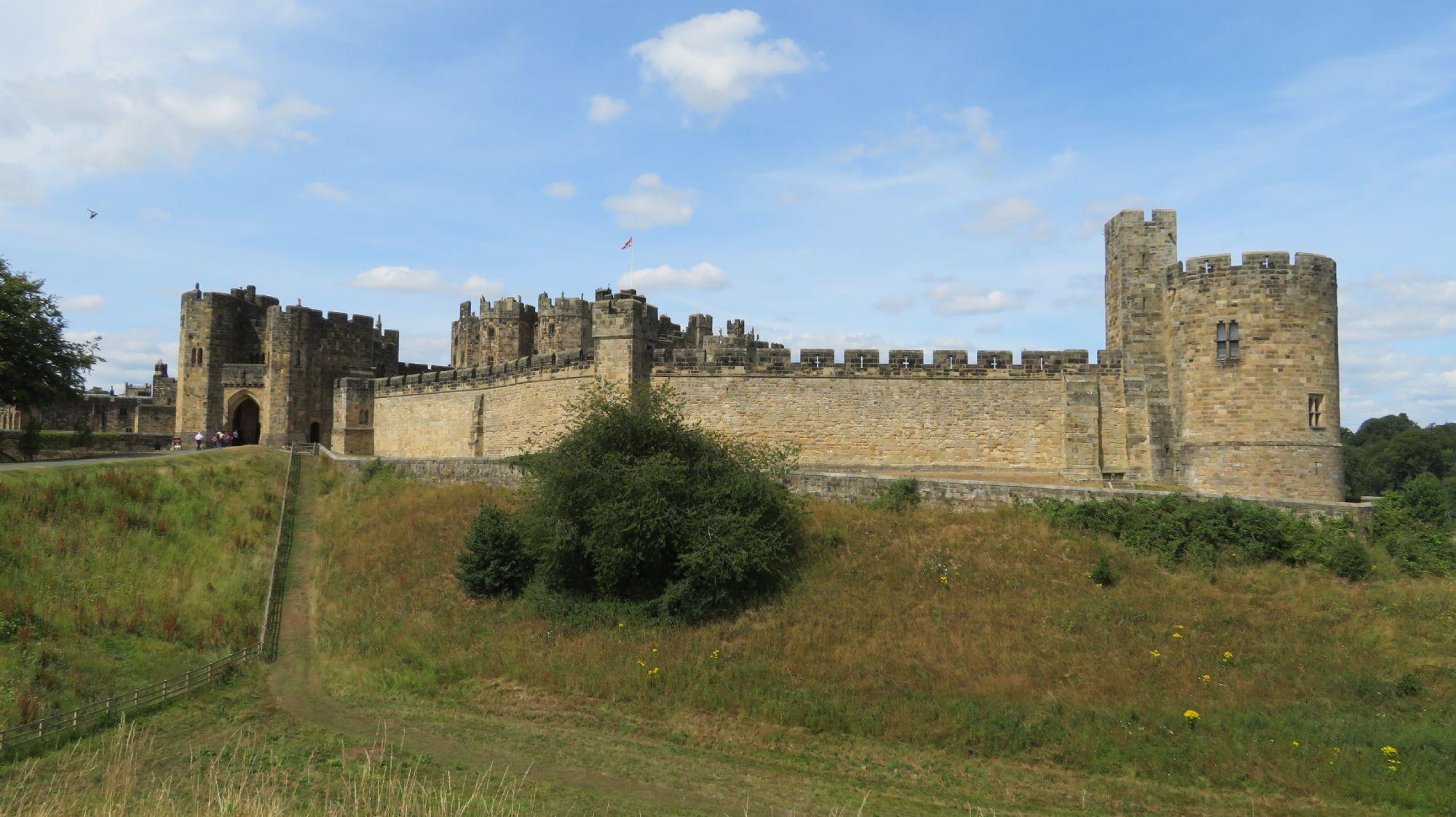 Impressive Norman Castle.
