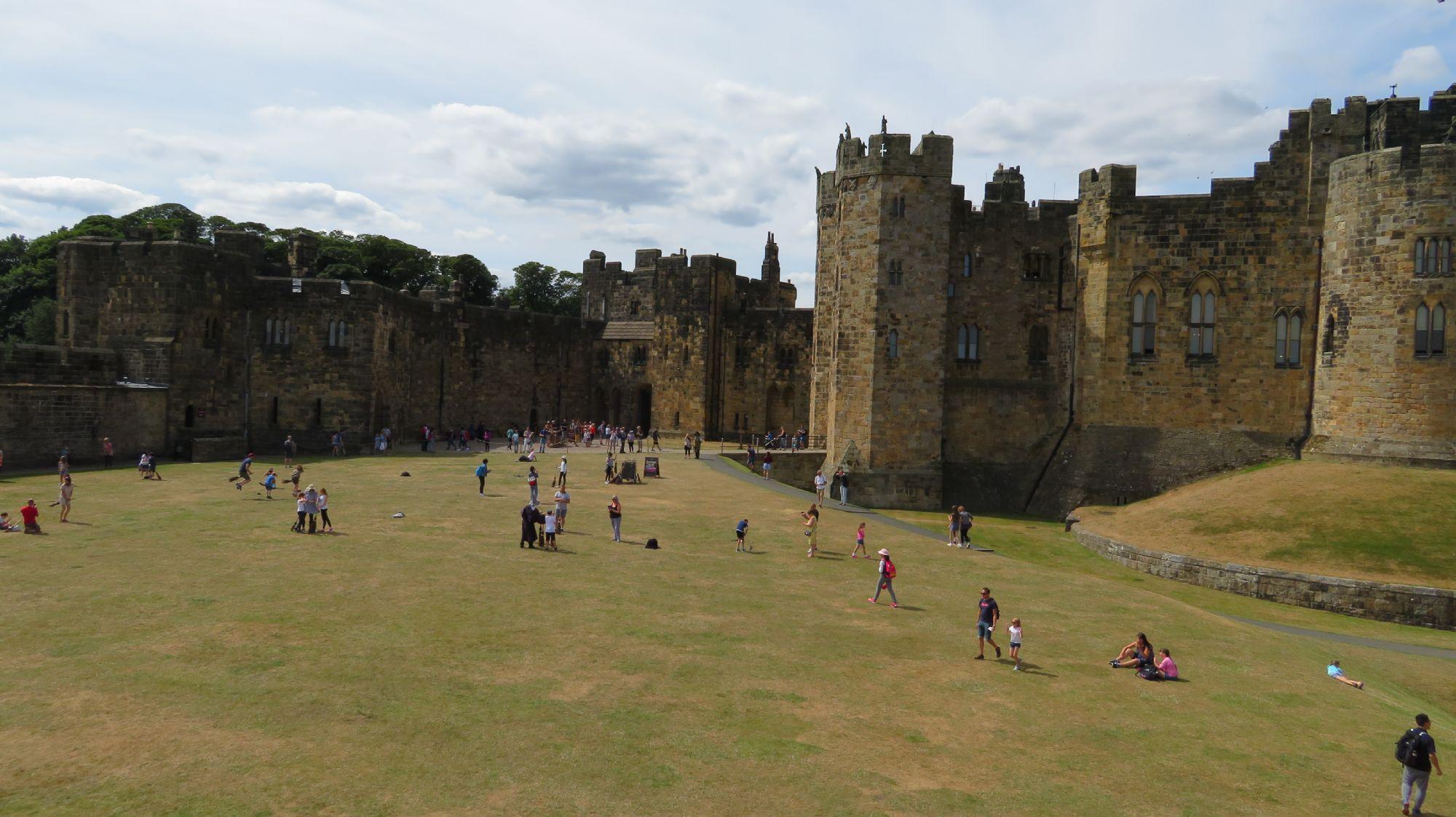 Inside the Castle ....