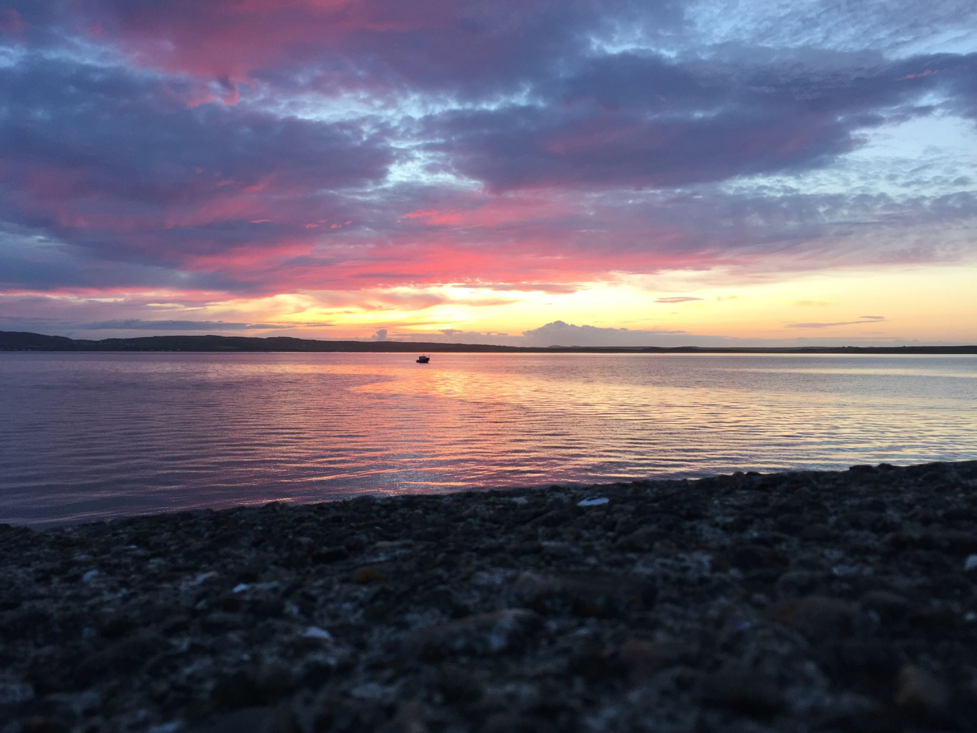 Sunset over Loch Indaal