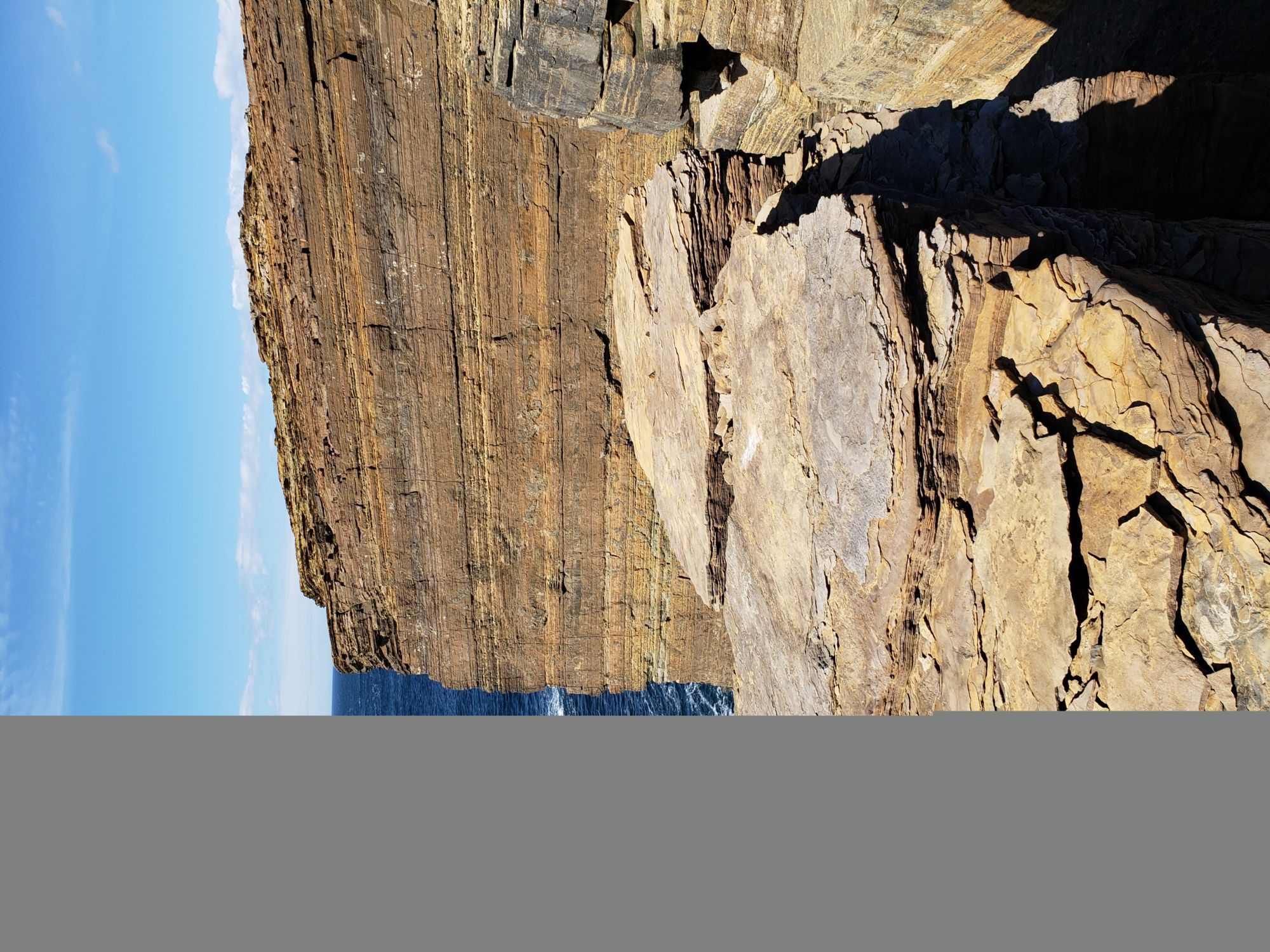 Cliffs at Yesnaby