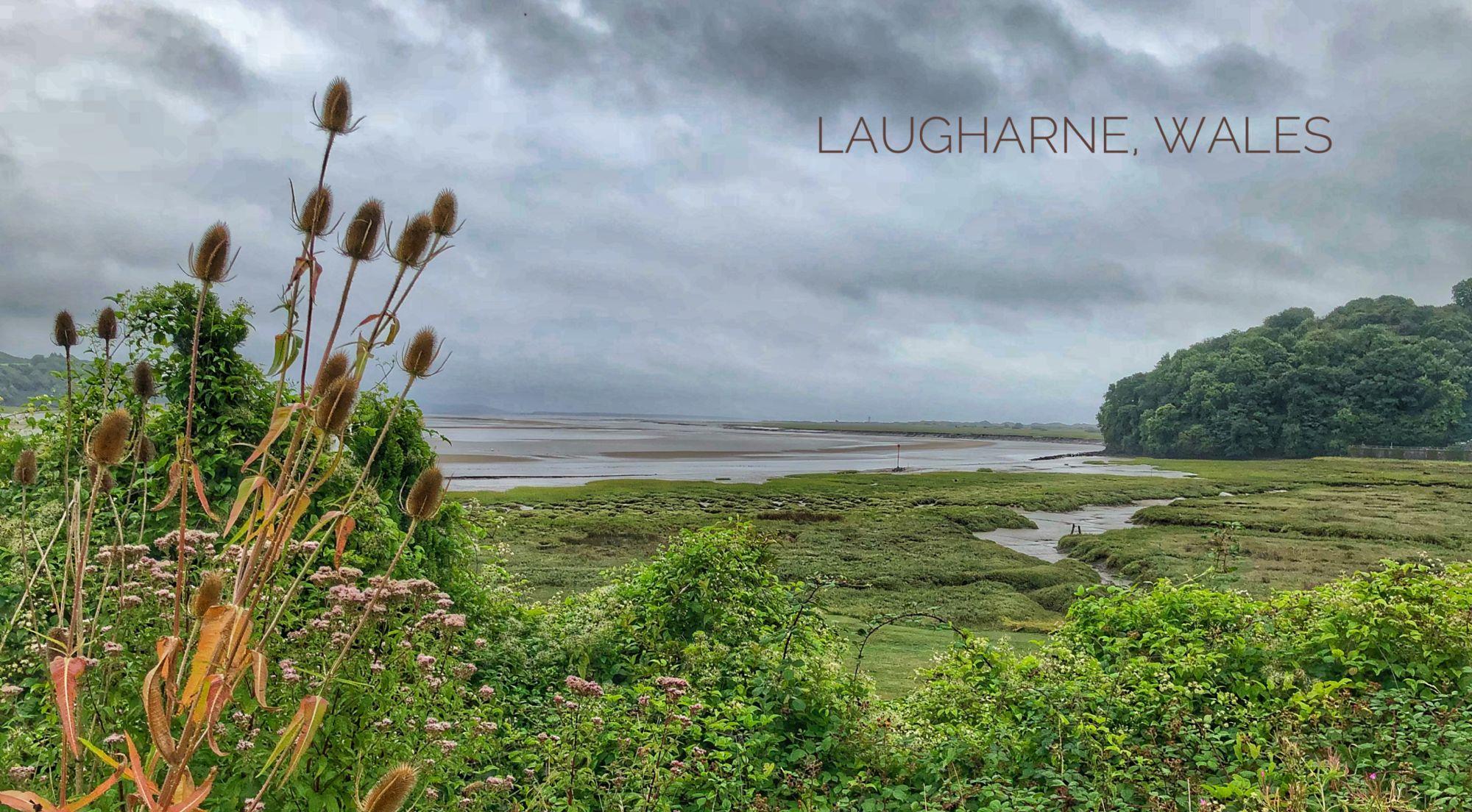 Tidal Flats at Laugharne