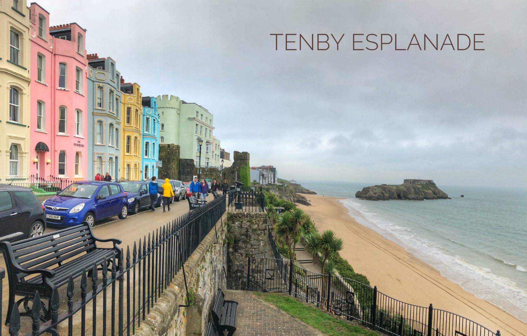 Tenby Esplanade