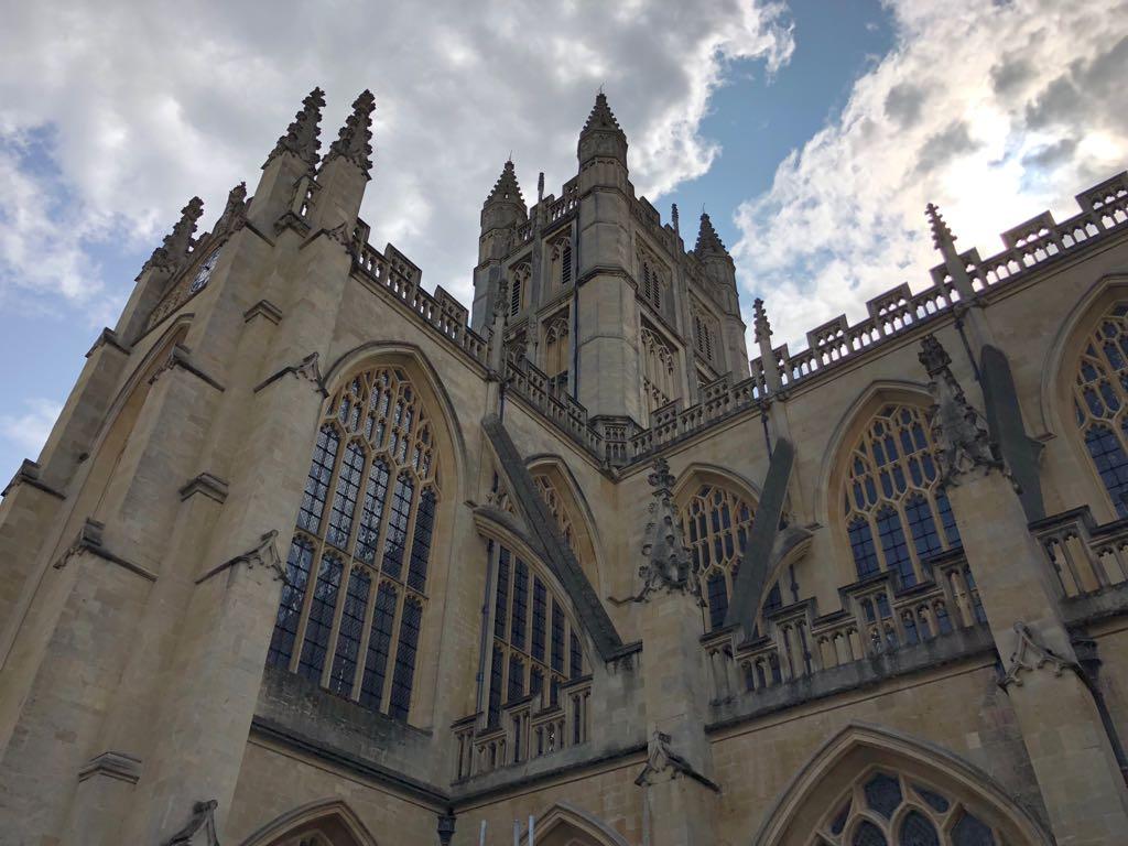 magnificent Bath Abbey