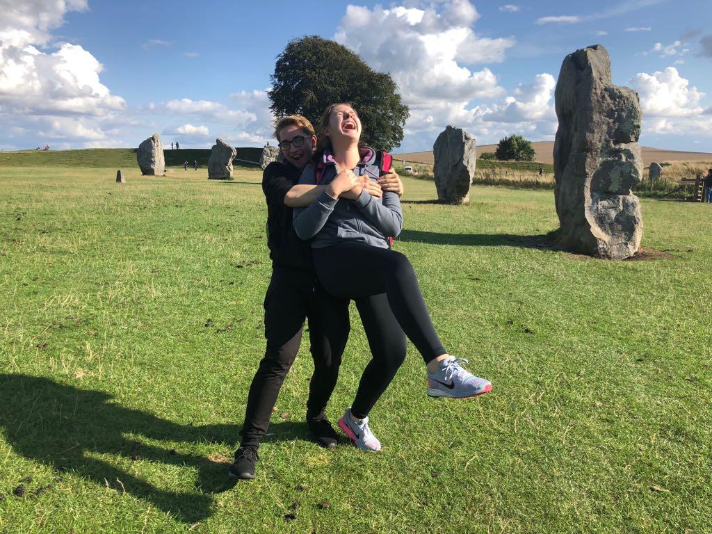 lots of fun in Avebury