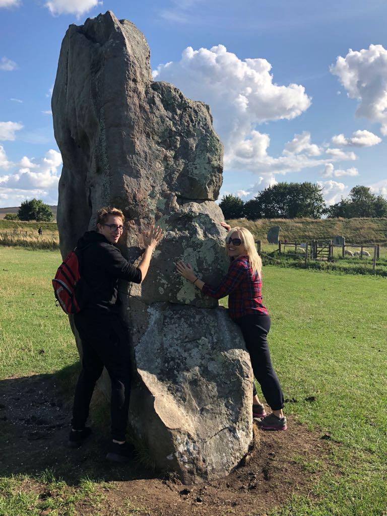 new hobby - stone hugging