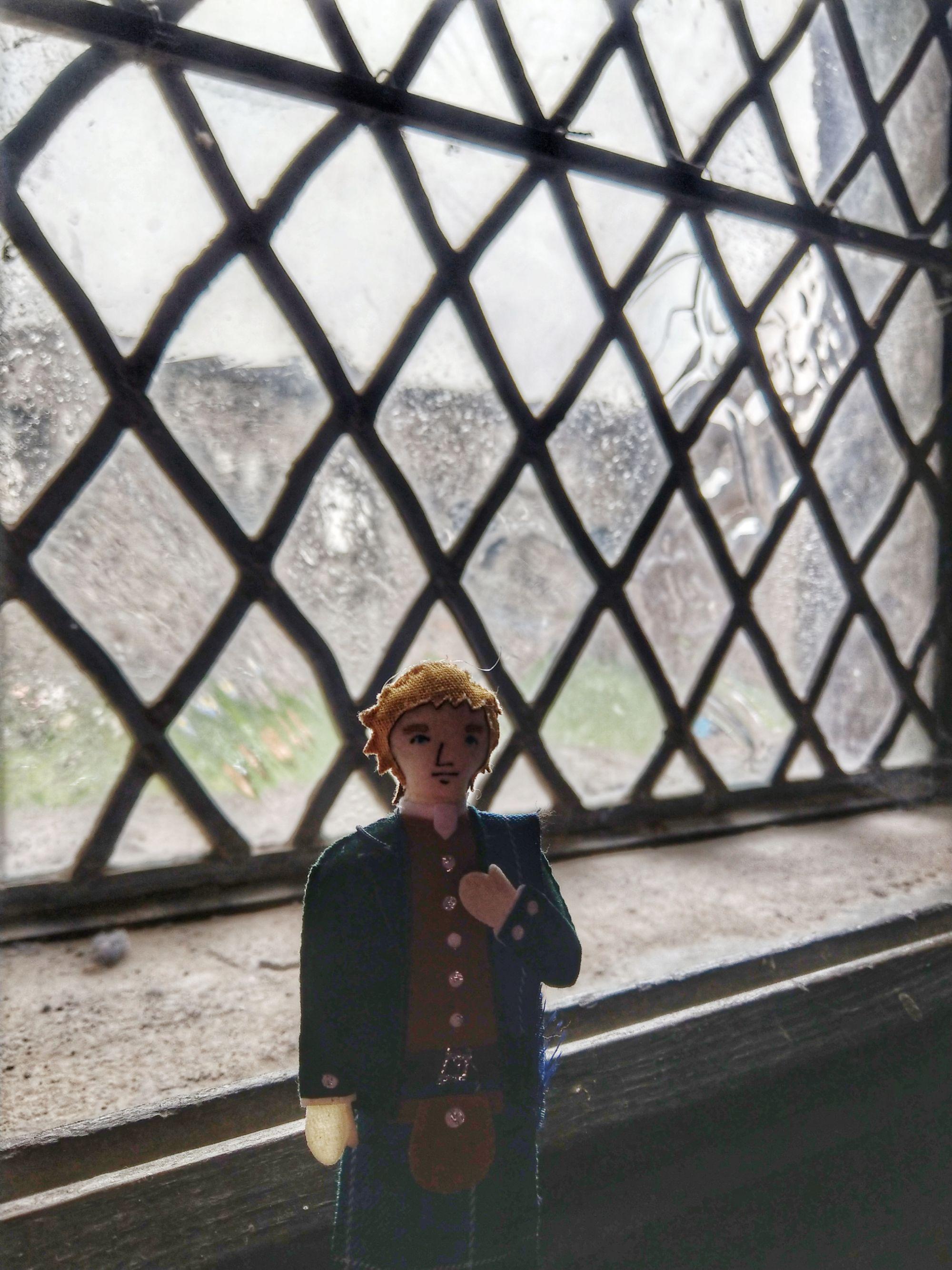 jamie at doune castle