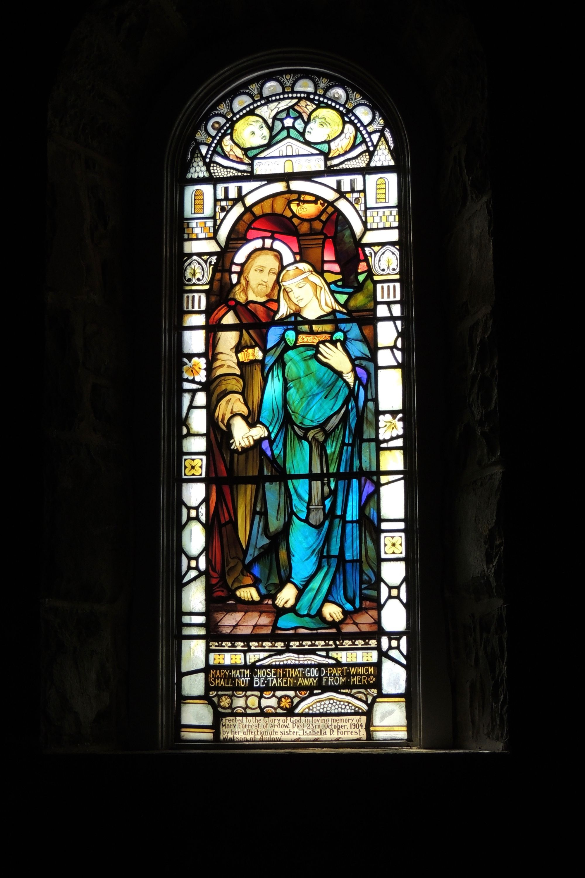 Dervaig stained glass