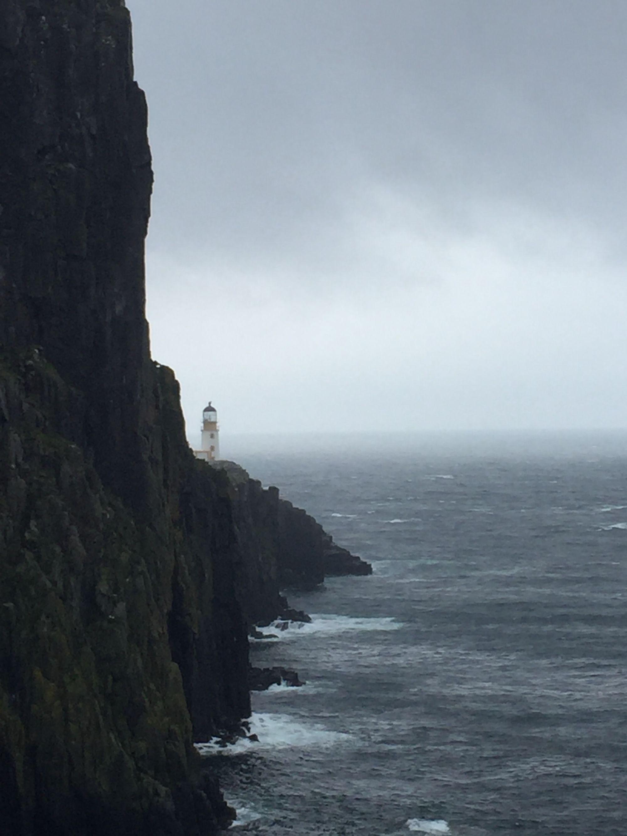 Alone in the Wind-Neist Point