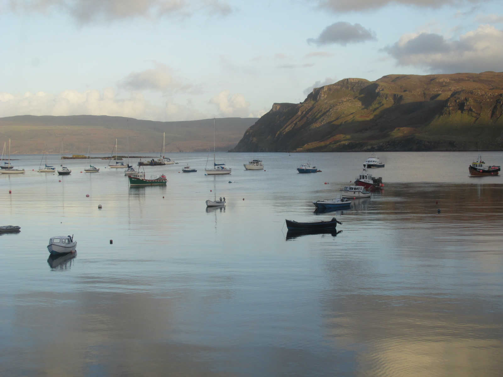 The serenity of Portree