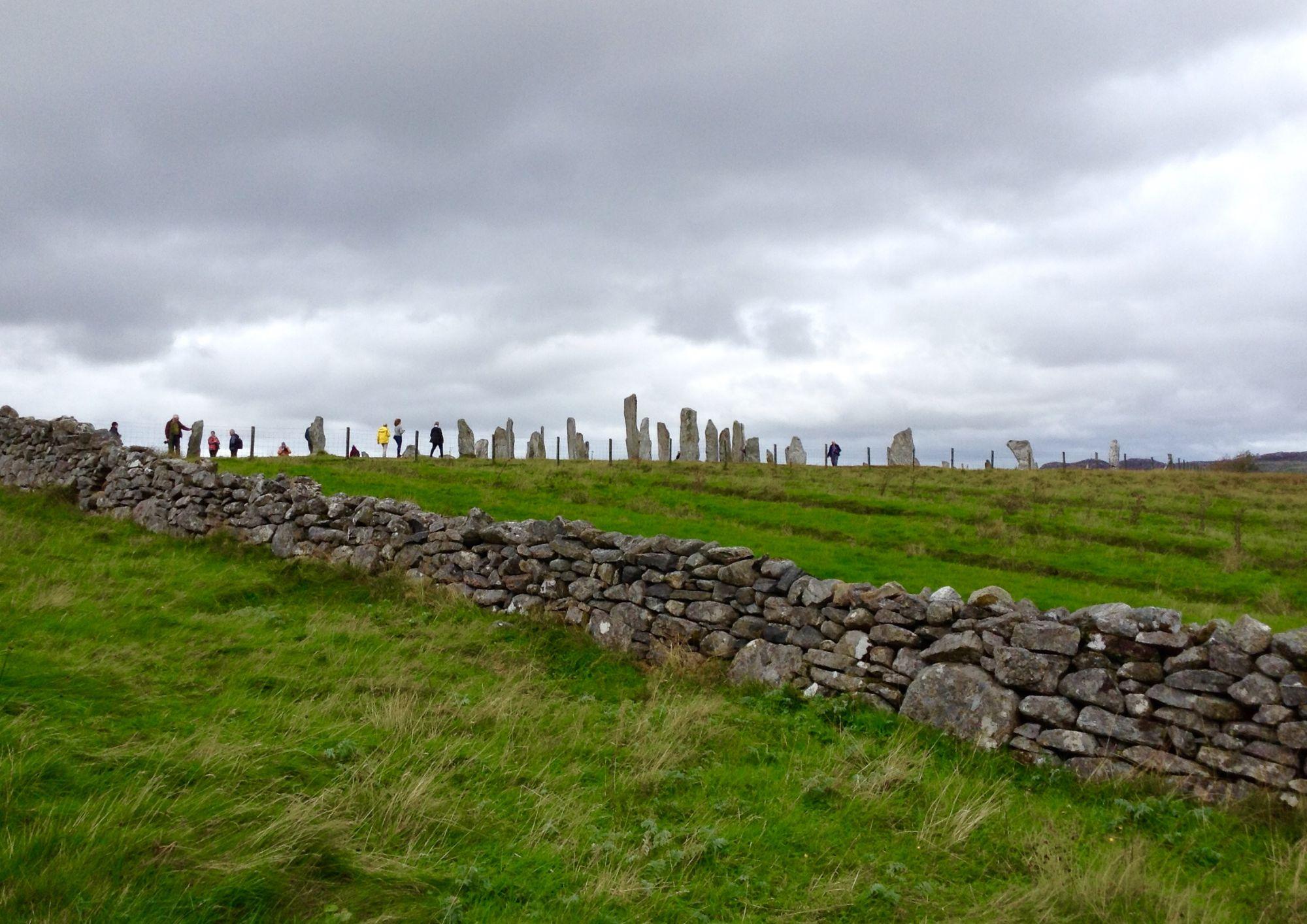 Standing stones Callanais