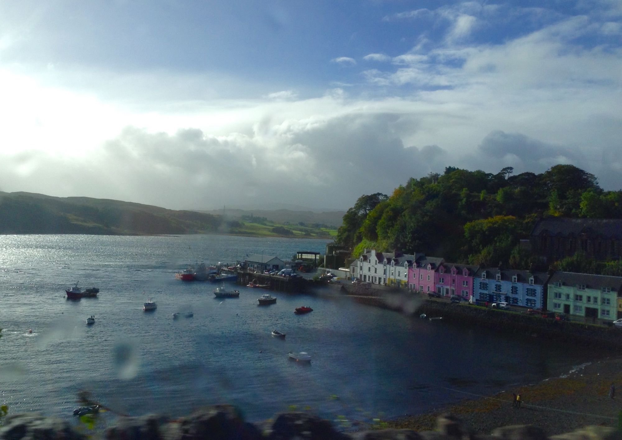 View of Portree