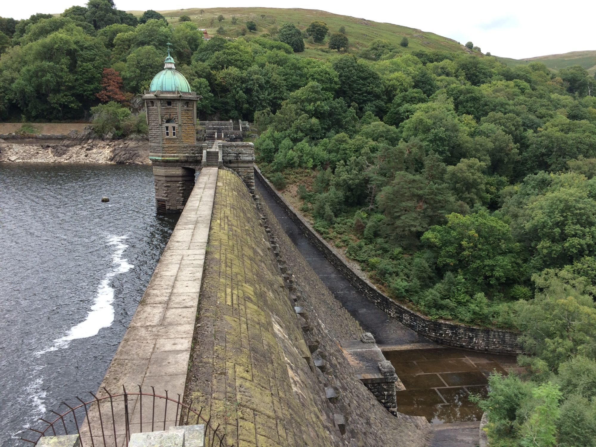 Elan Valley reservoir dam