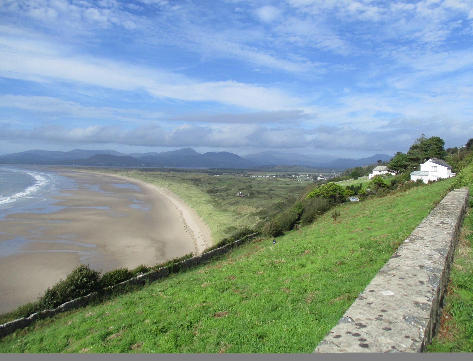 Coast of Wales near Beddgelert