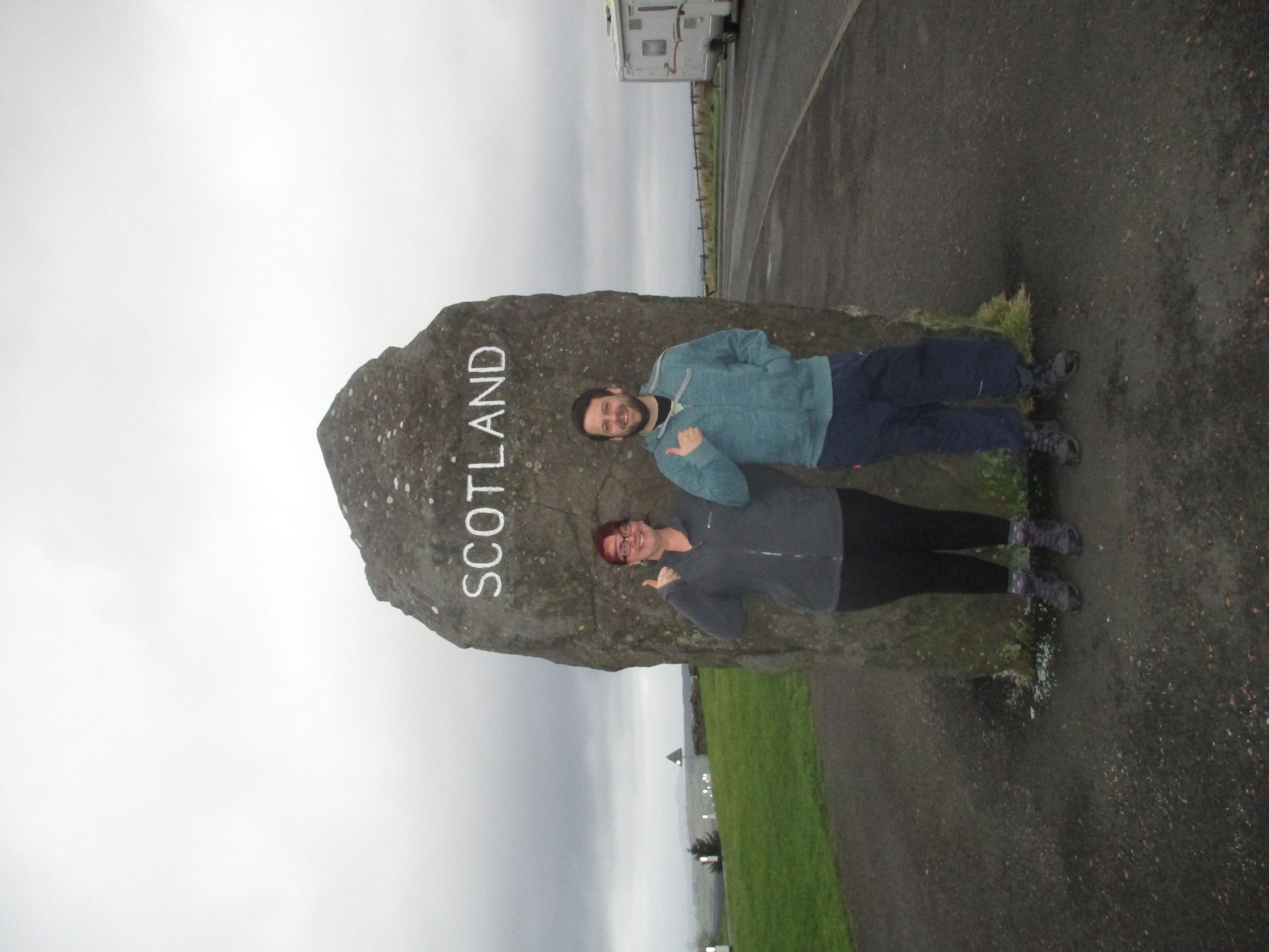 Us leaving Scotland!!