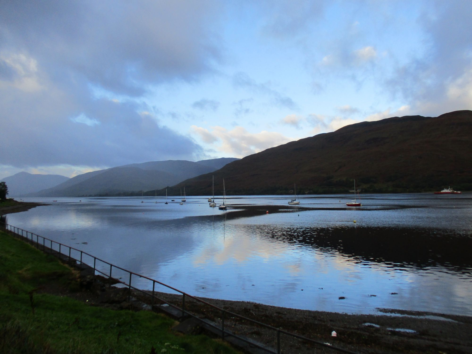 Fort William early morning