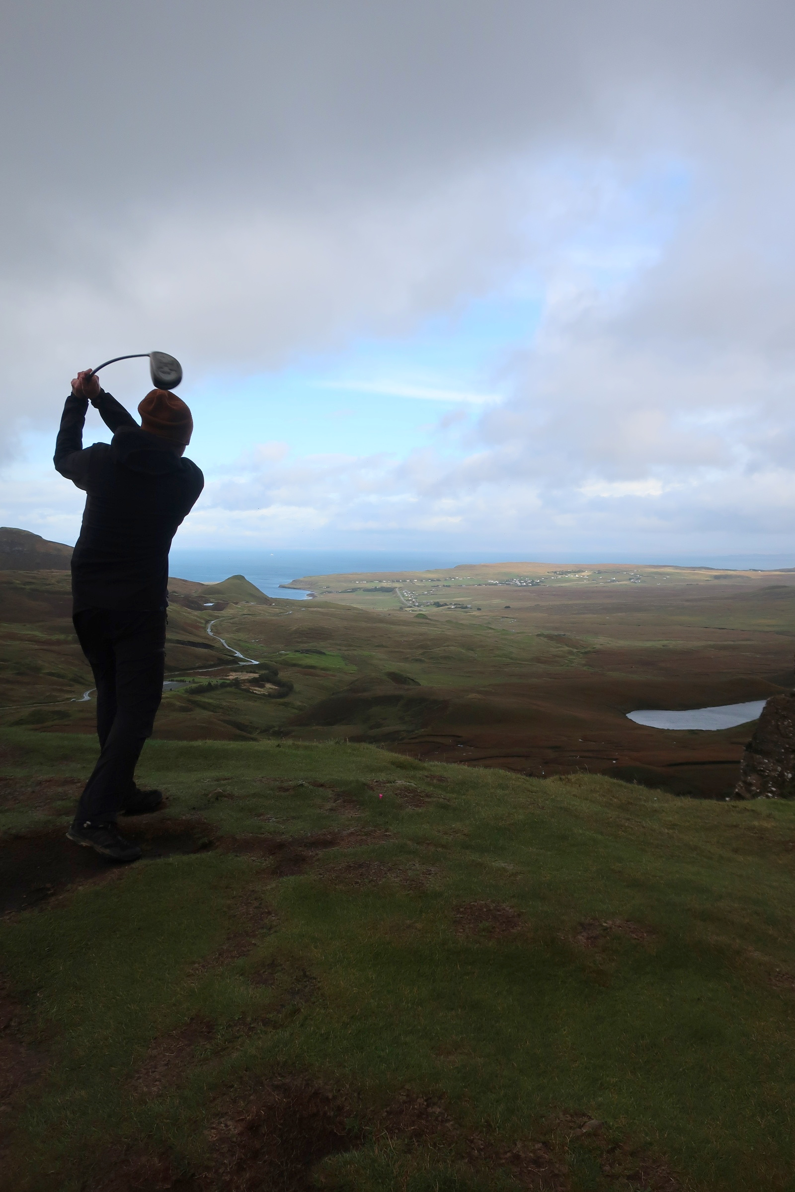Fore Teeing off at Quiraing